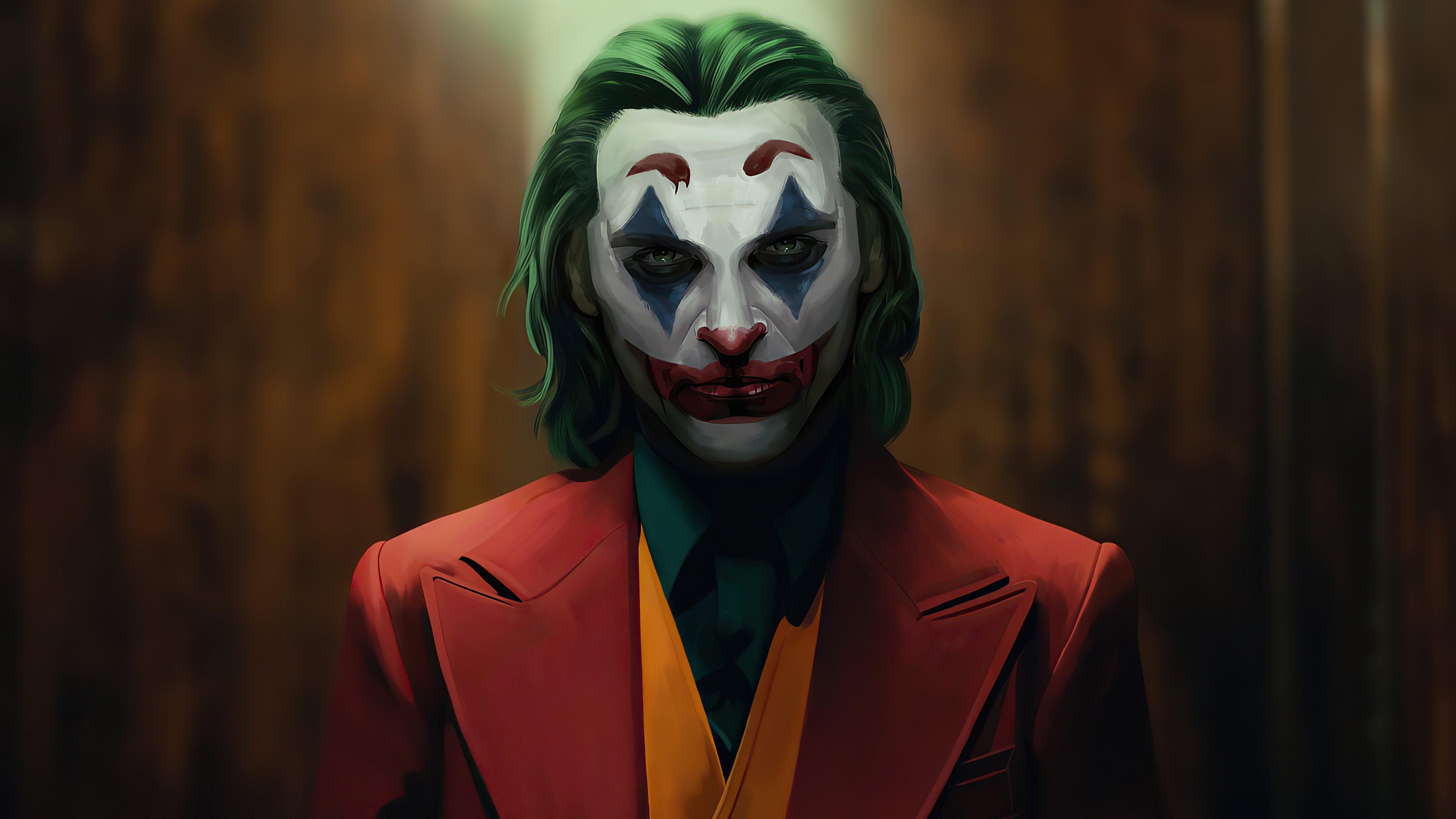 Wallpaper Joker Sketch Artwork