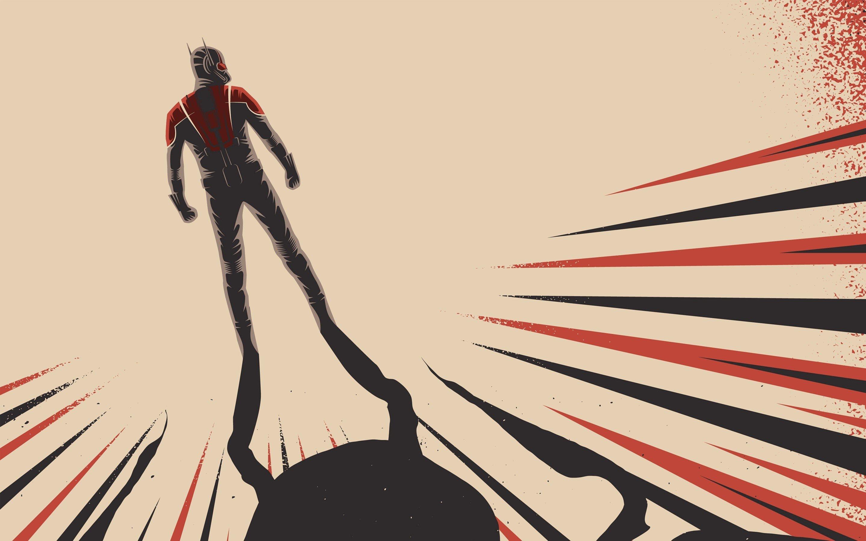 Wallpaper Artwork of Ant man