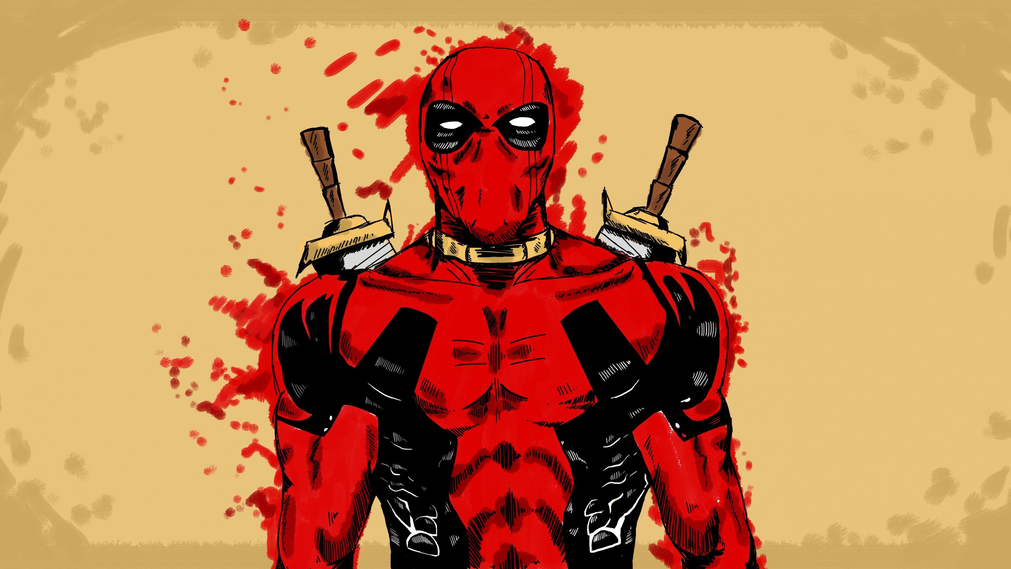 Fondo de pantalla de Artwork de Deadpool Imágenes
