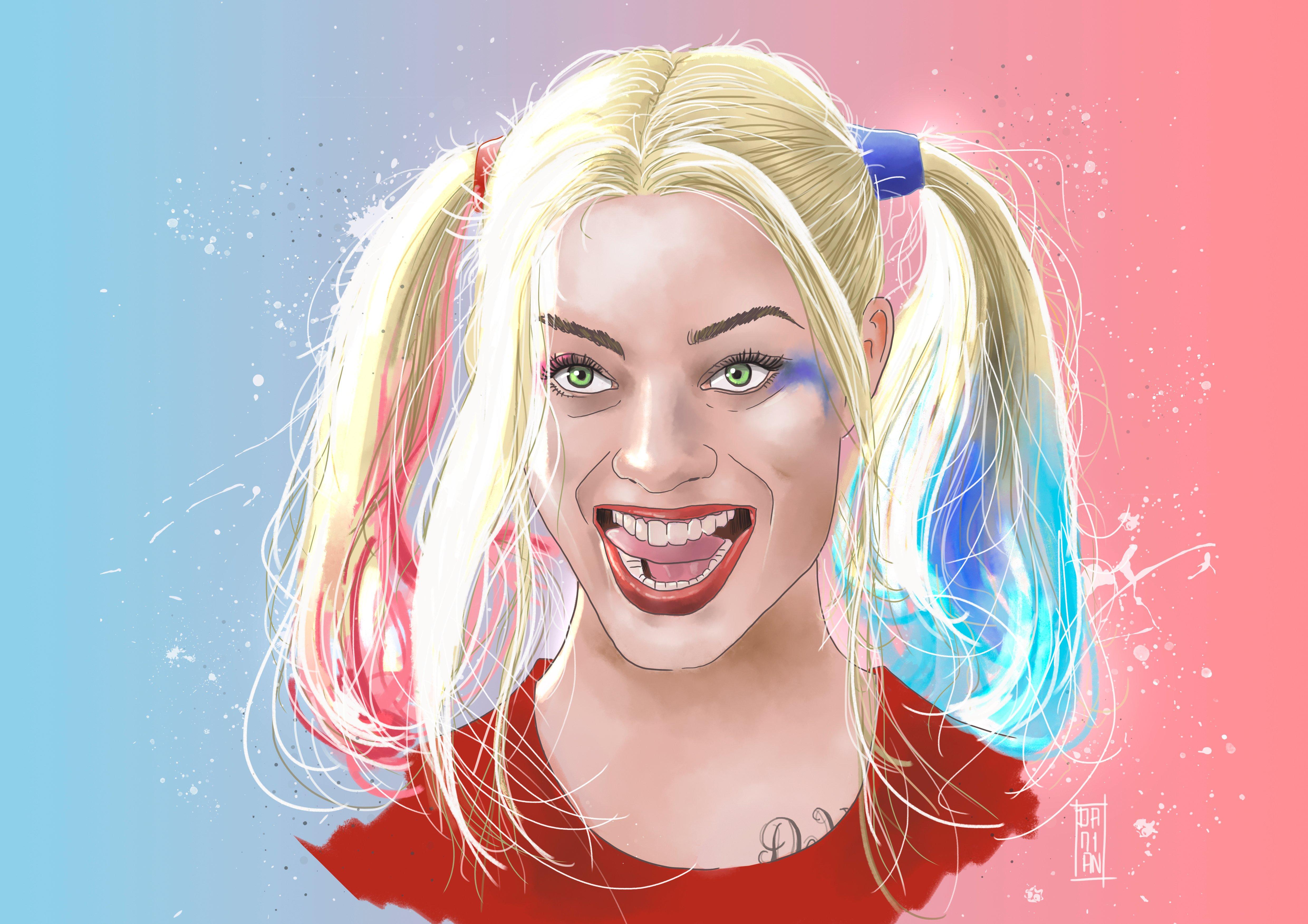 Fondos de pantalla Artwork de Harley Quinn