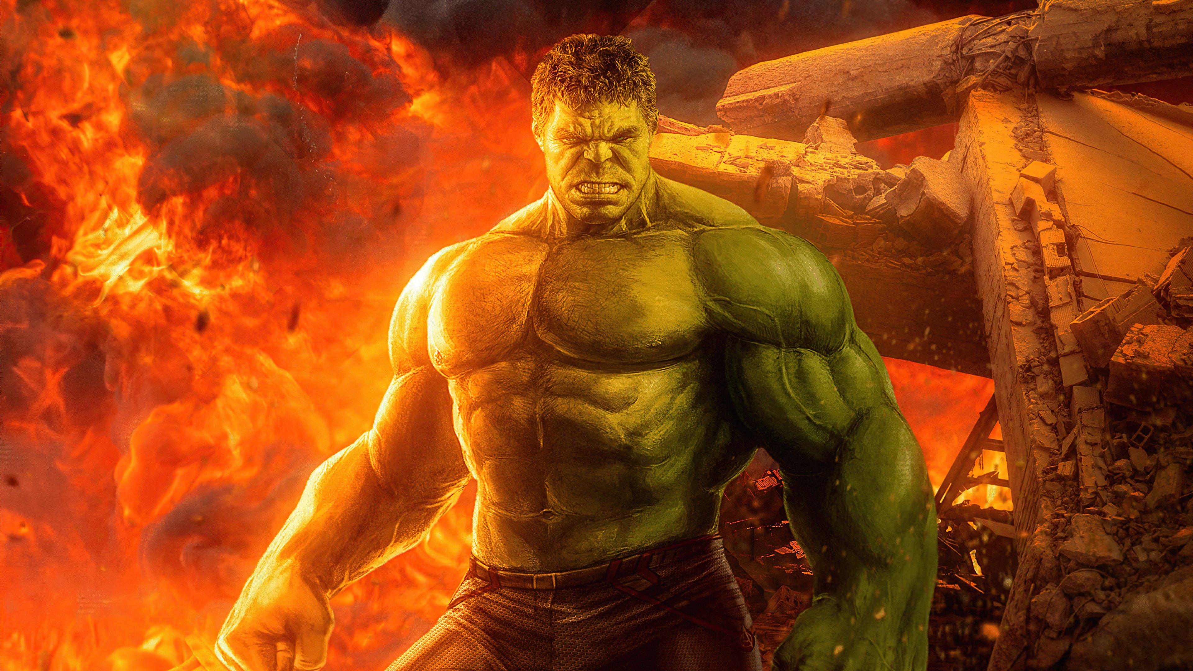 Wallpaper Hulk 2020 Artwork