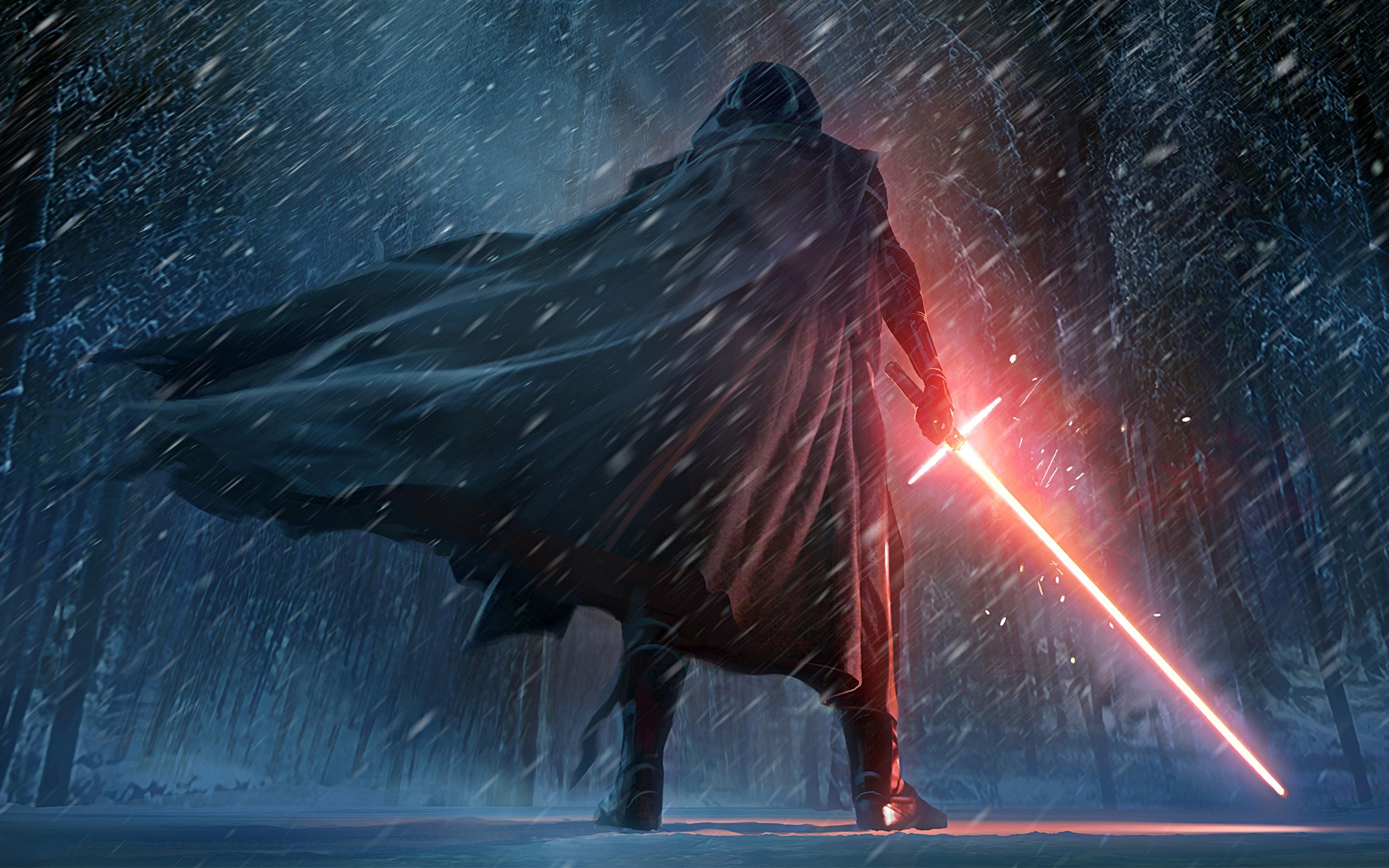 Wallpaper Artwork by Kylo Ren in Star Wars
