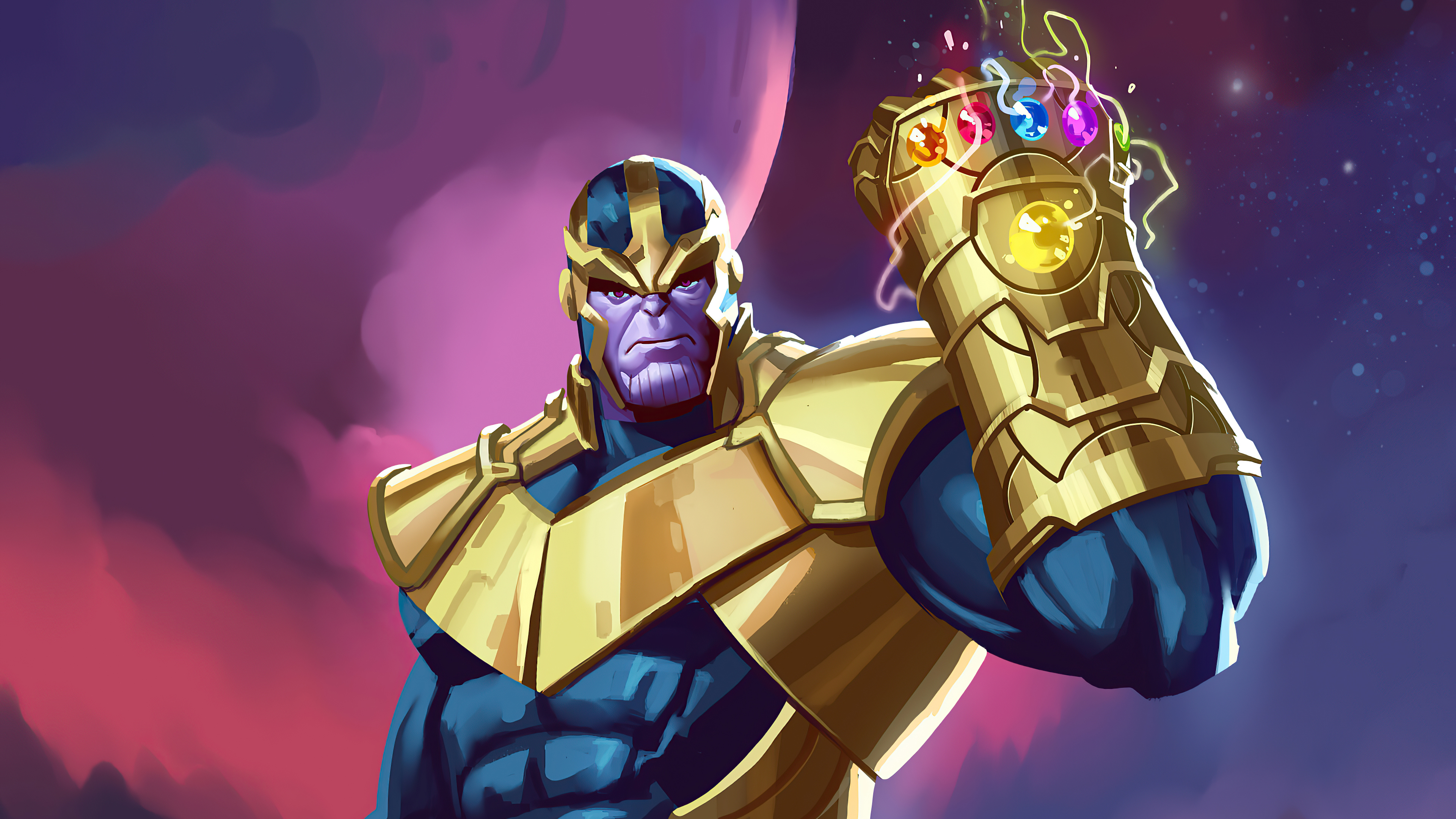 Wallpaper Thanos Artwork 2020