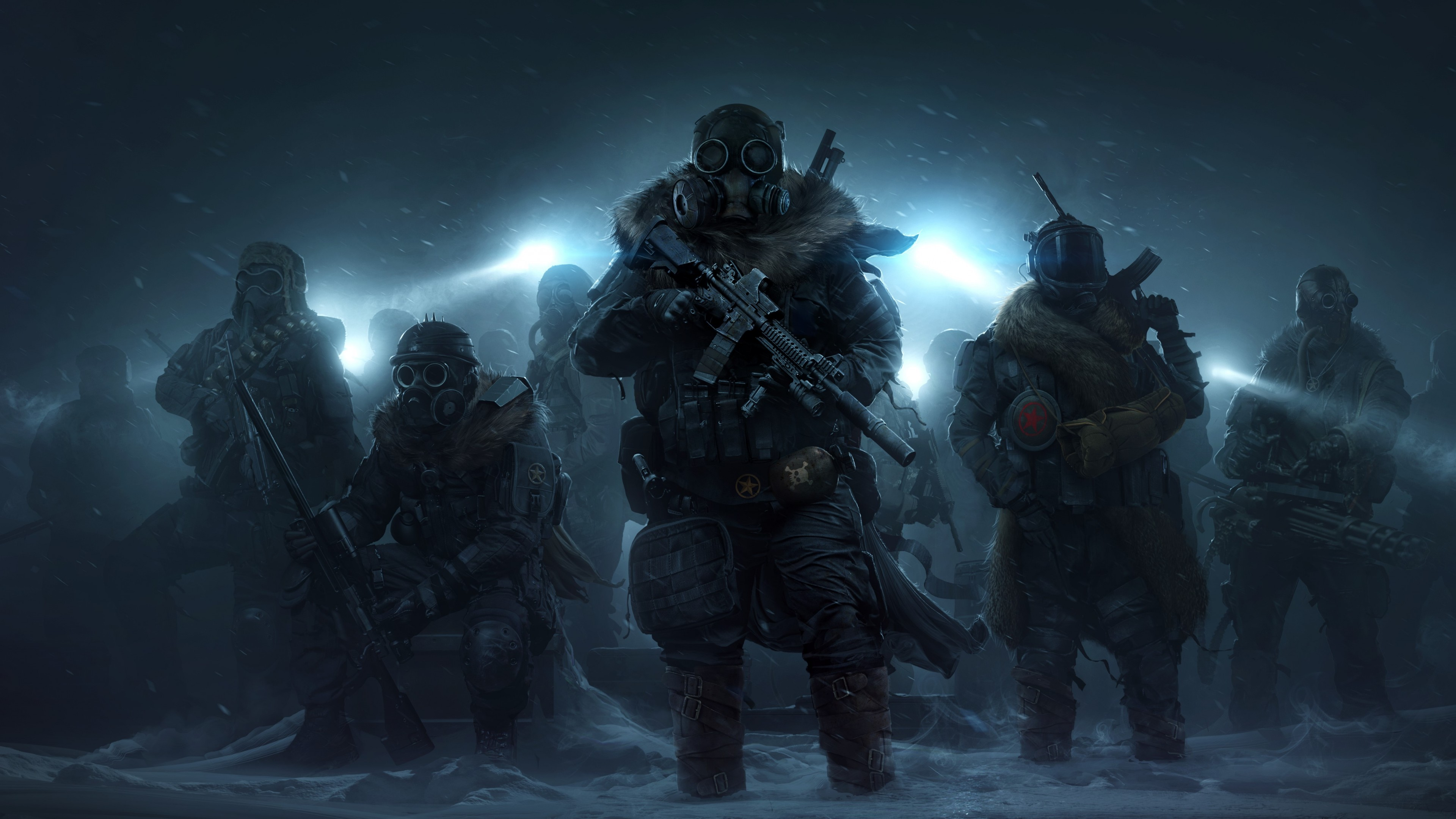Wallpaper Artwork Wasteland 3