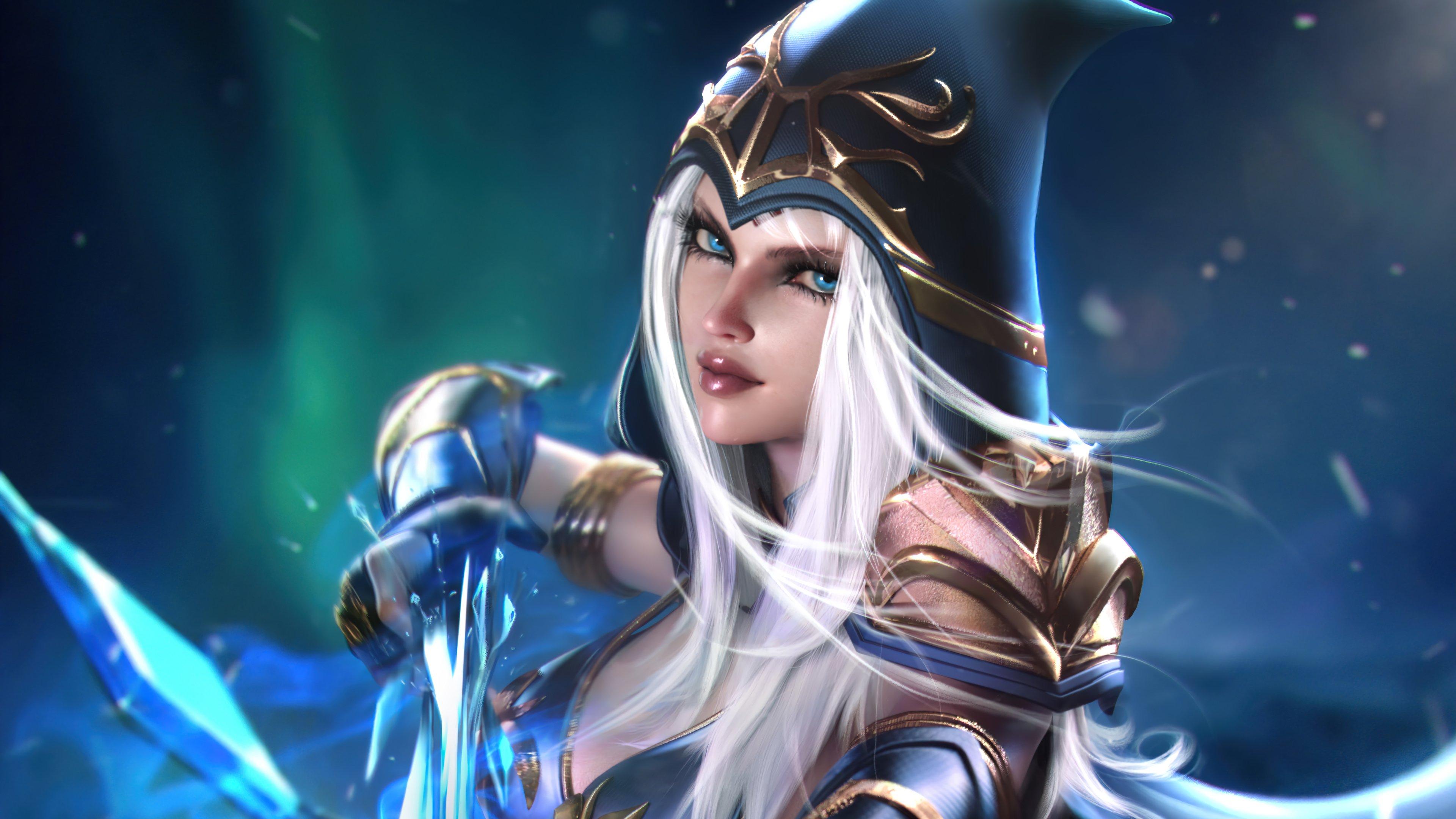 Wallpaper Ashe League of Legends