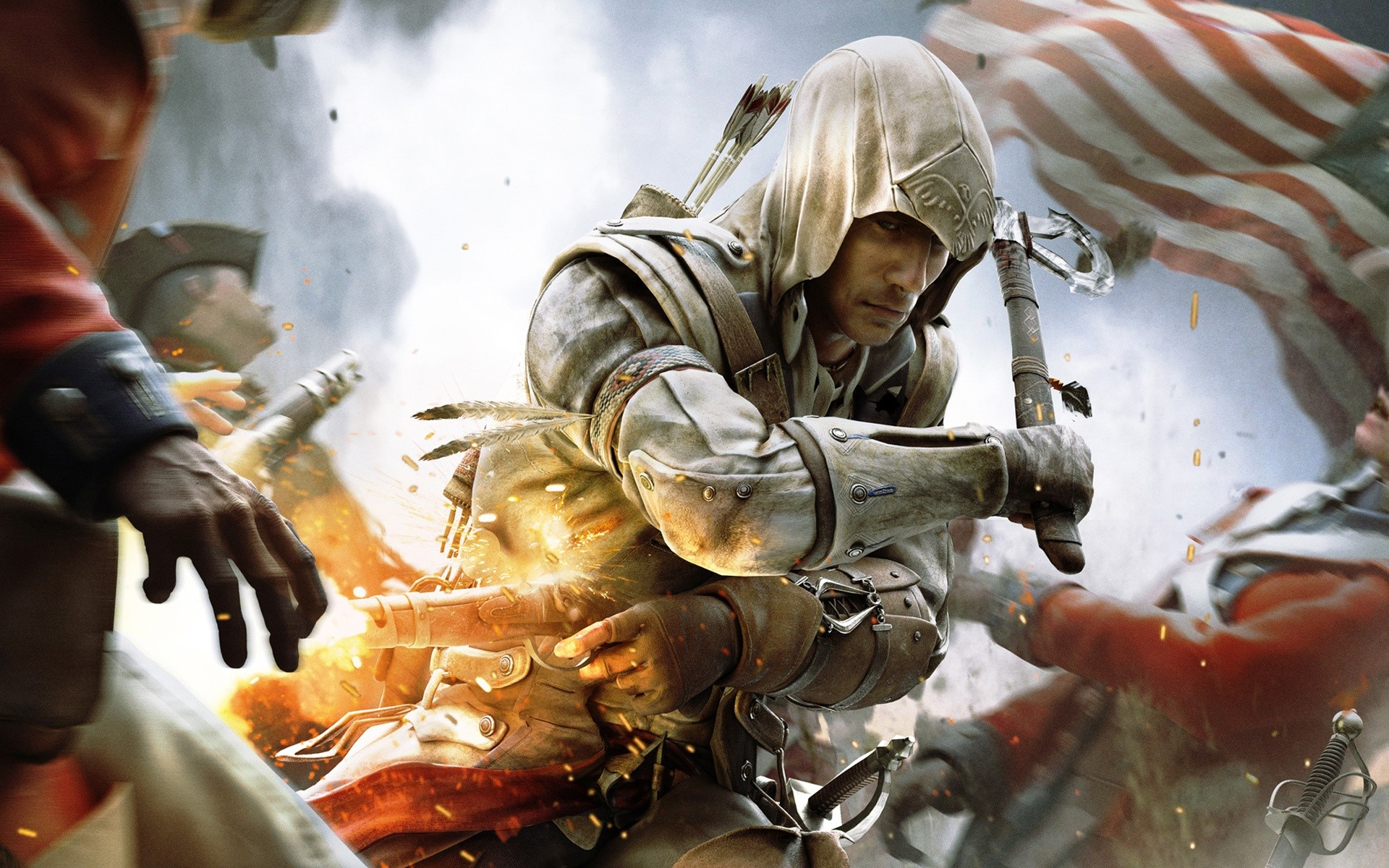 Wallpaper Assassin's Creed 3