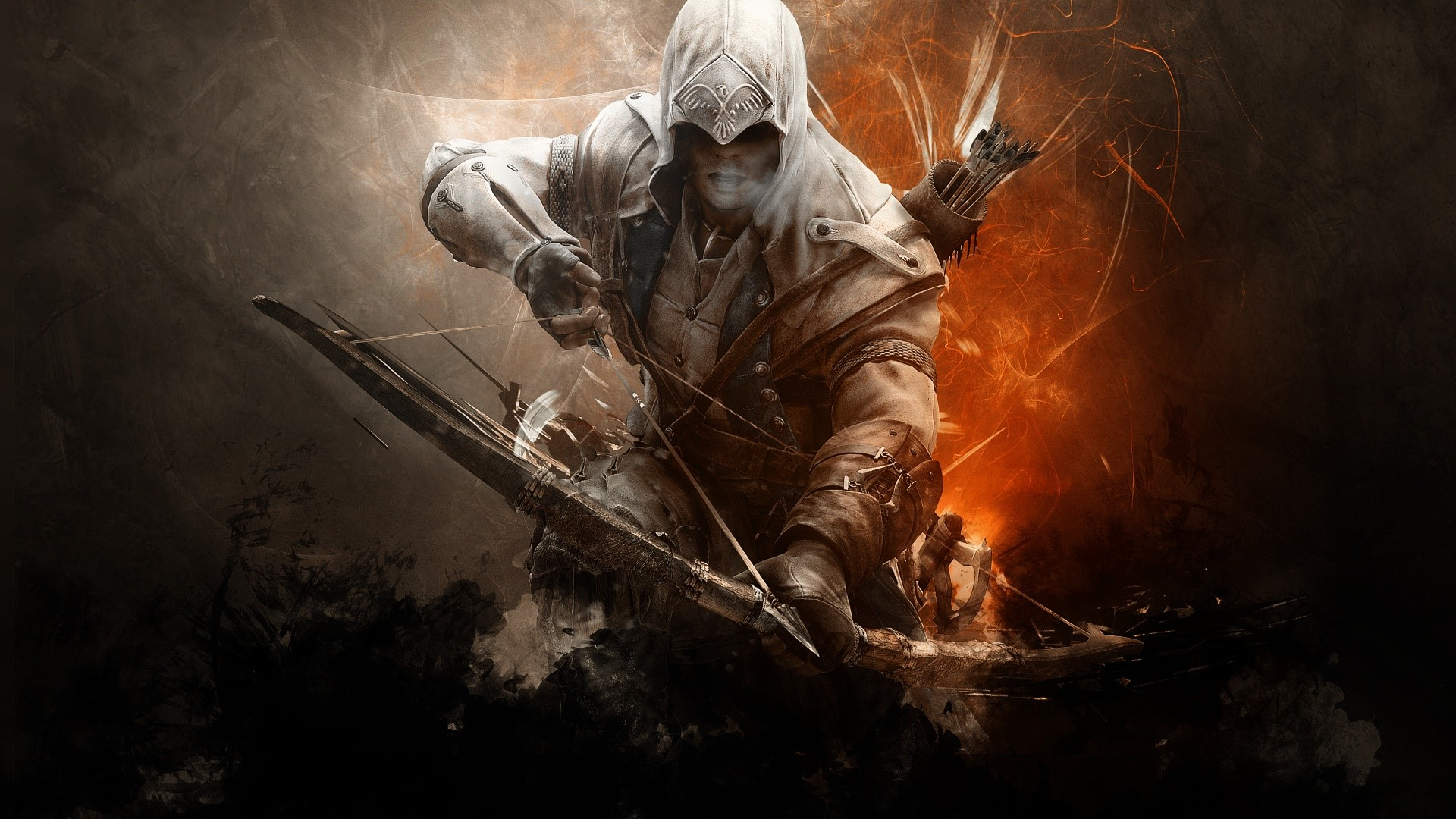 Assassins Creed 3 Connor Wallpaper Full Hd Id 1002