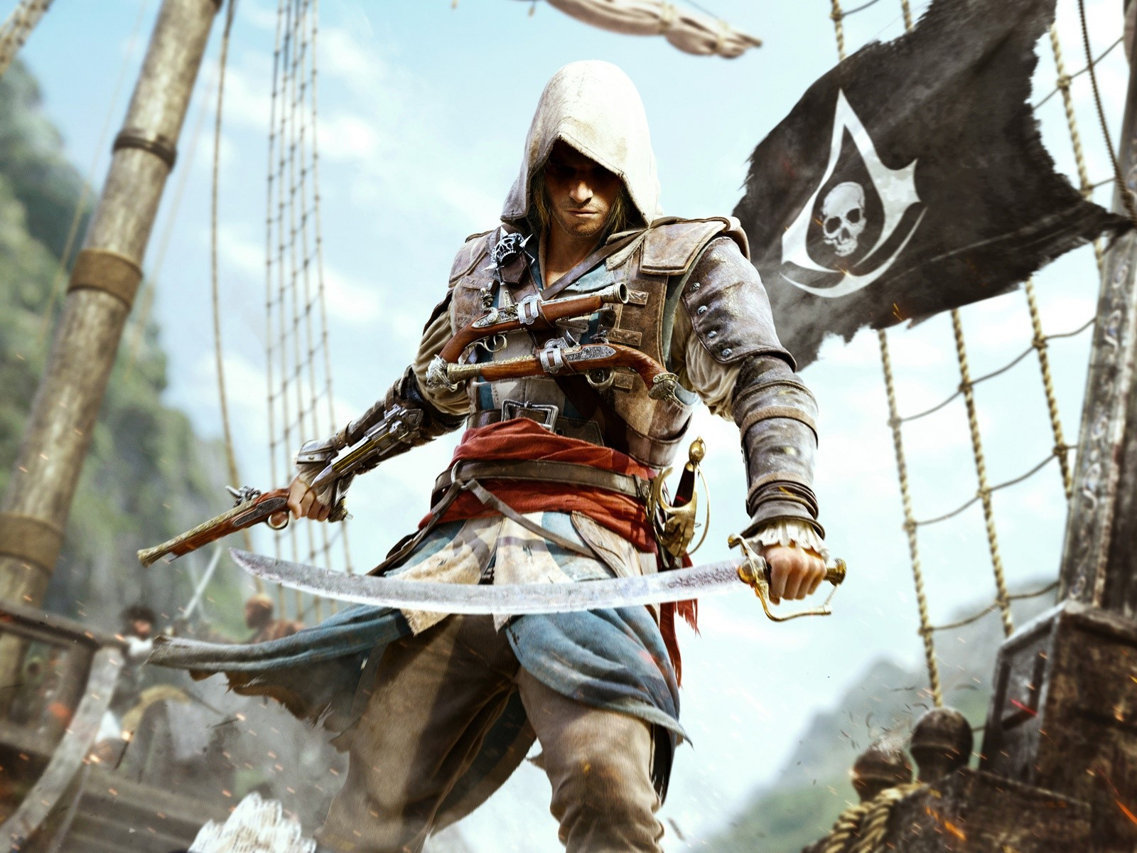 Wallpaper Assassins Creed 4 Images