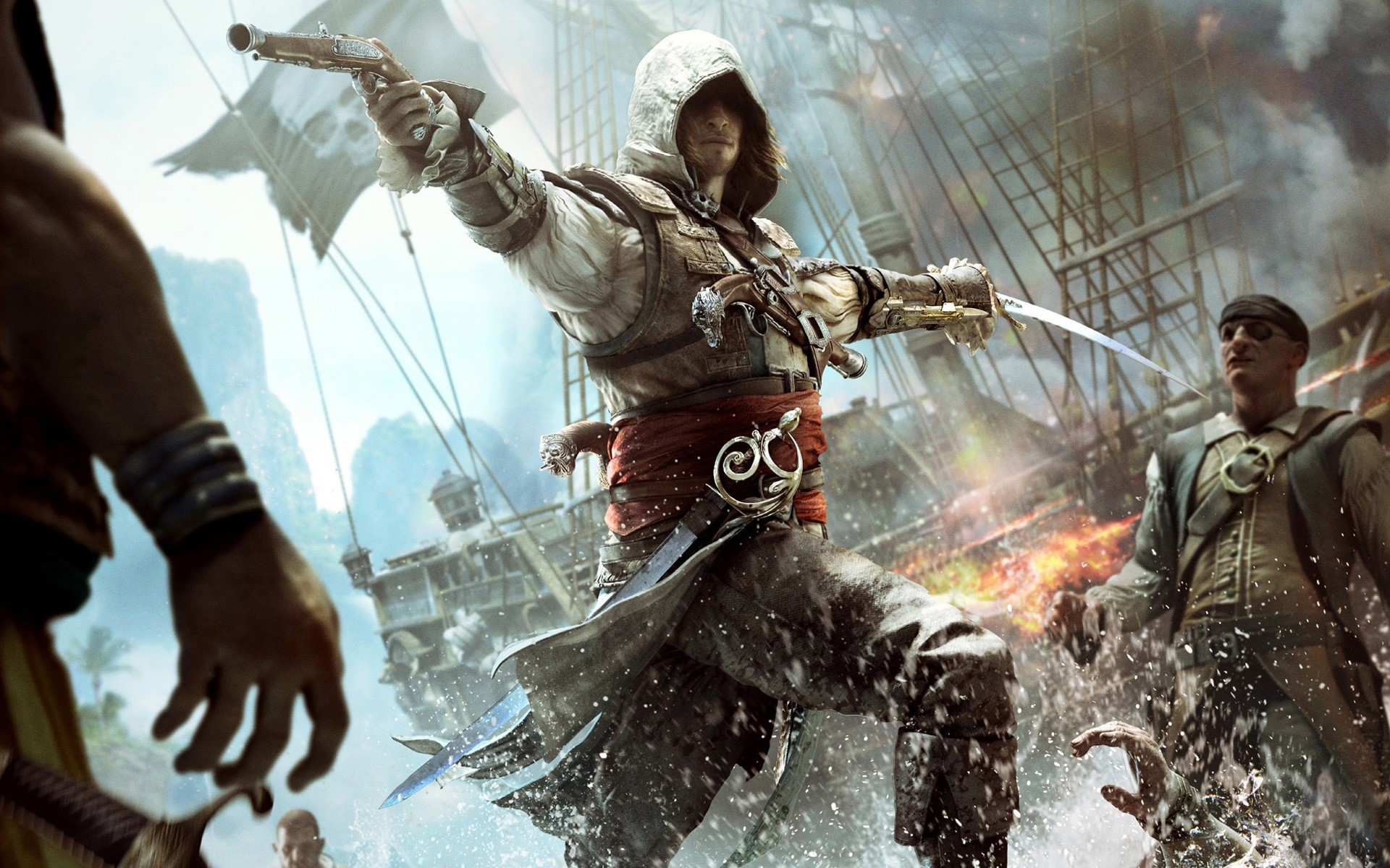 Wallpaper Assassins creed IV Black Flag Images