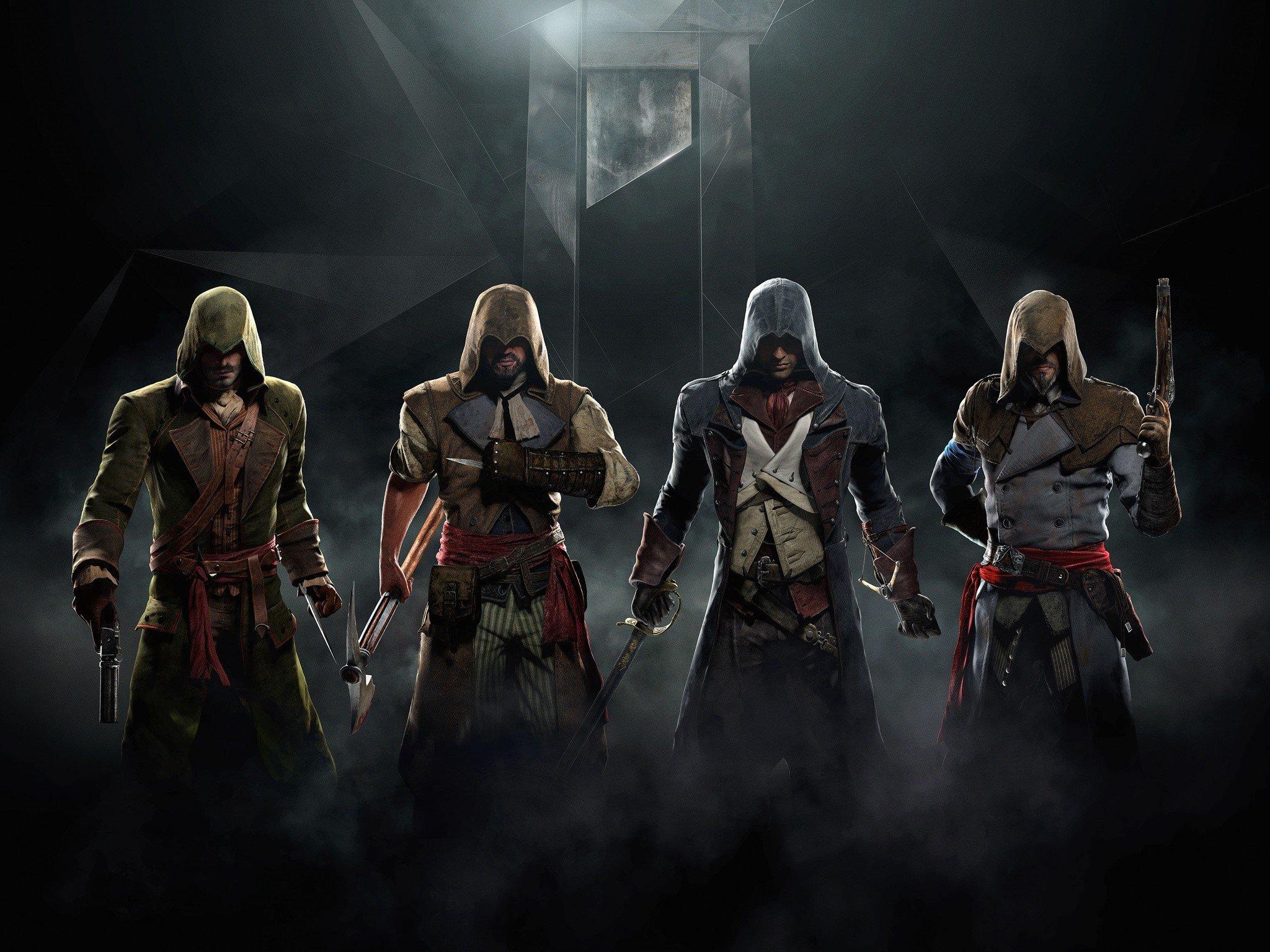 Fondos de pantalla Assassins Creed Unity Juego