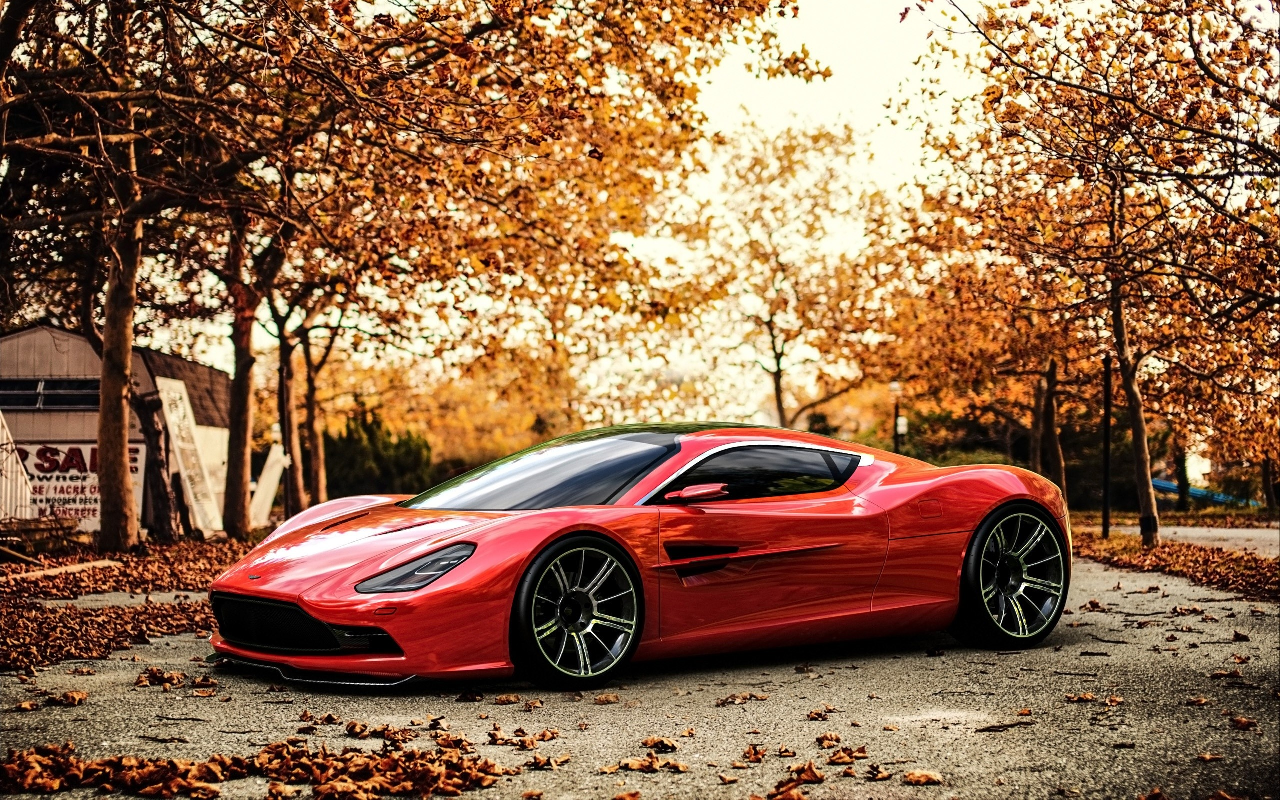 Wallpaper Aston Martin DBC concept