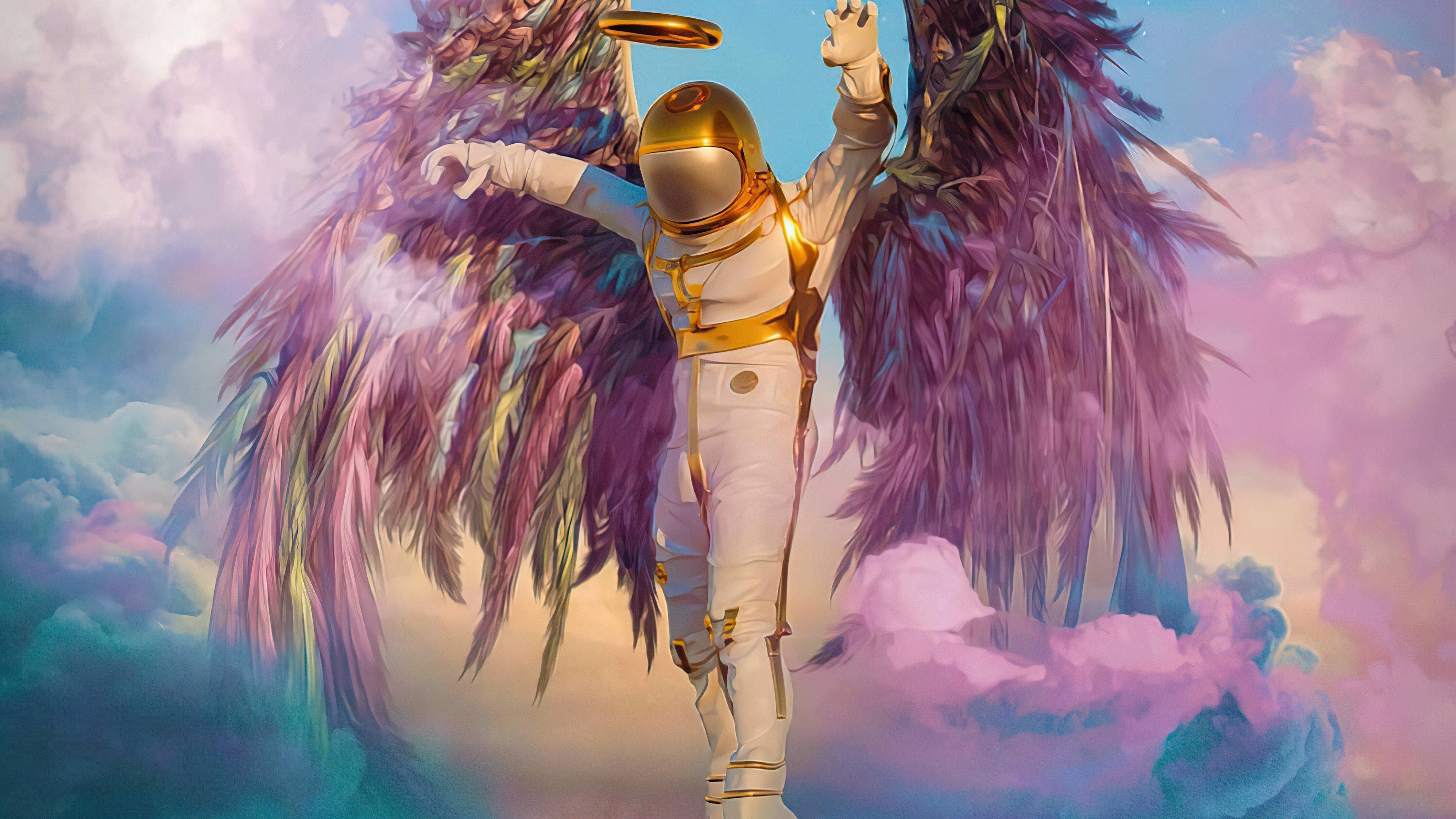 Wallpaper Astronaut Guardian