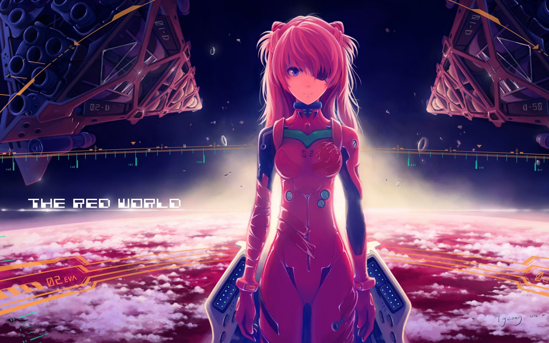 Anime Wallpaper Asuka Langley Soryu