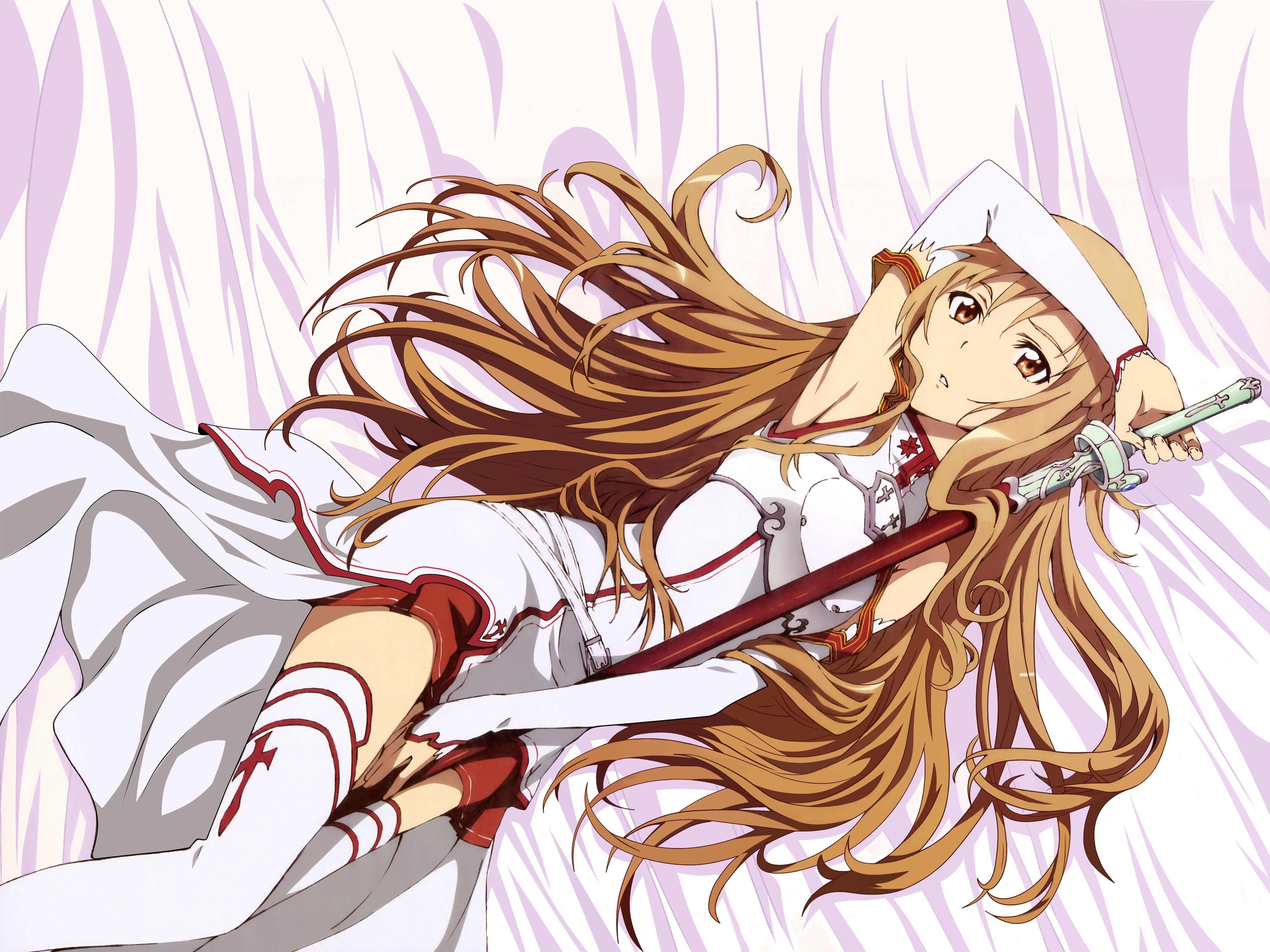 Fondos de pantalla Anime Asuna Yuuki Sword Art Online