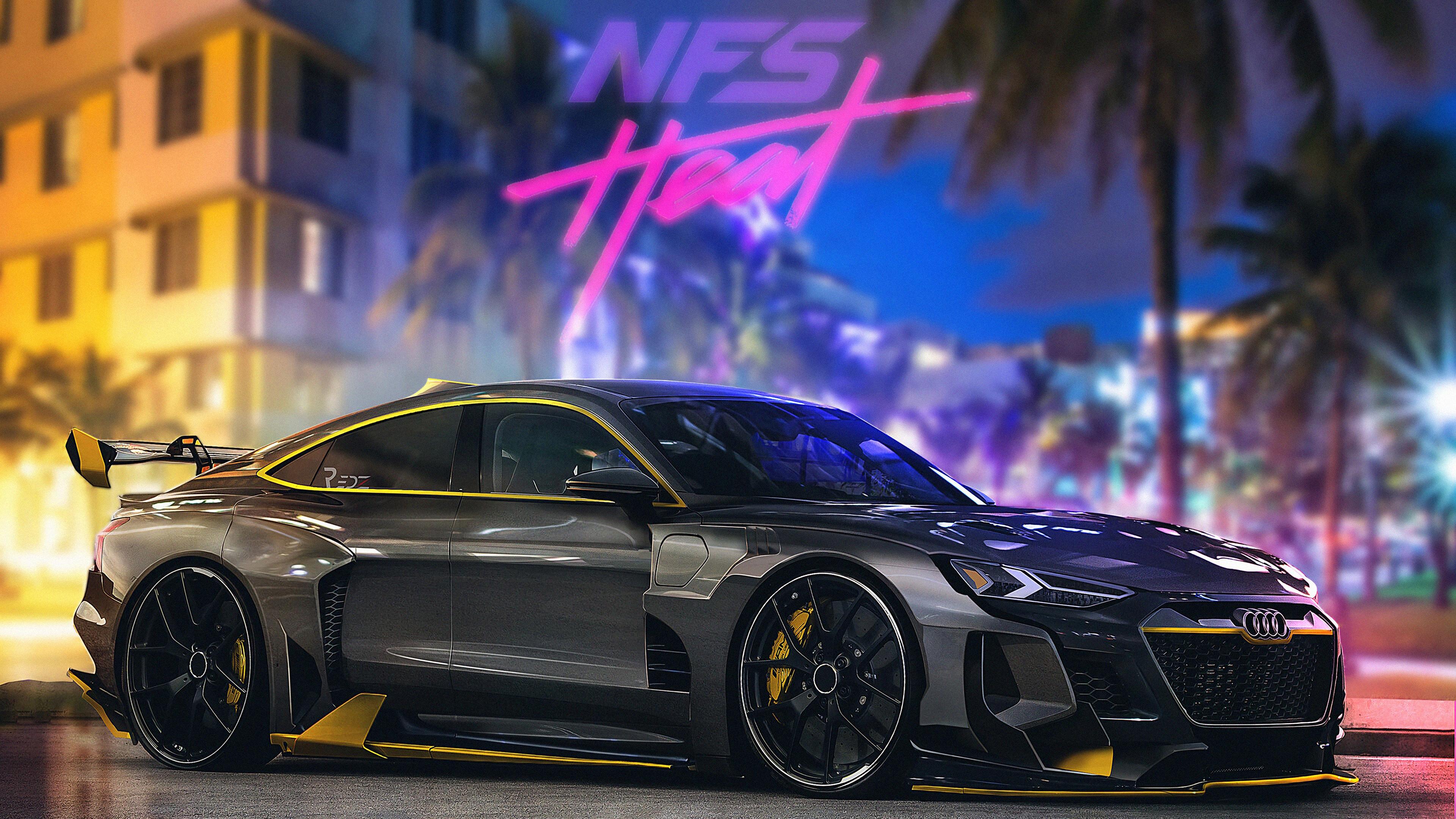 Fondos de pantalla Audi E-TRON NFS Heat