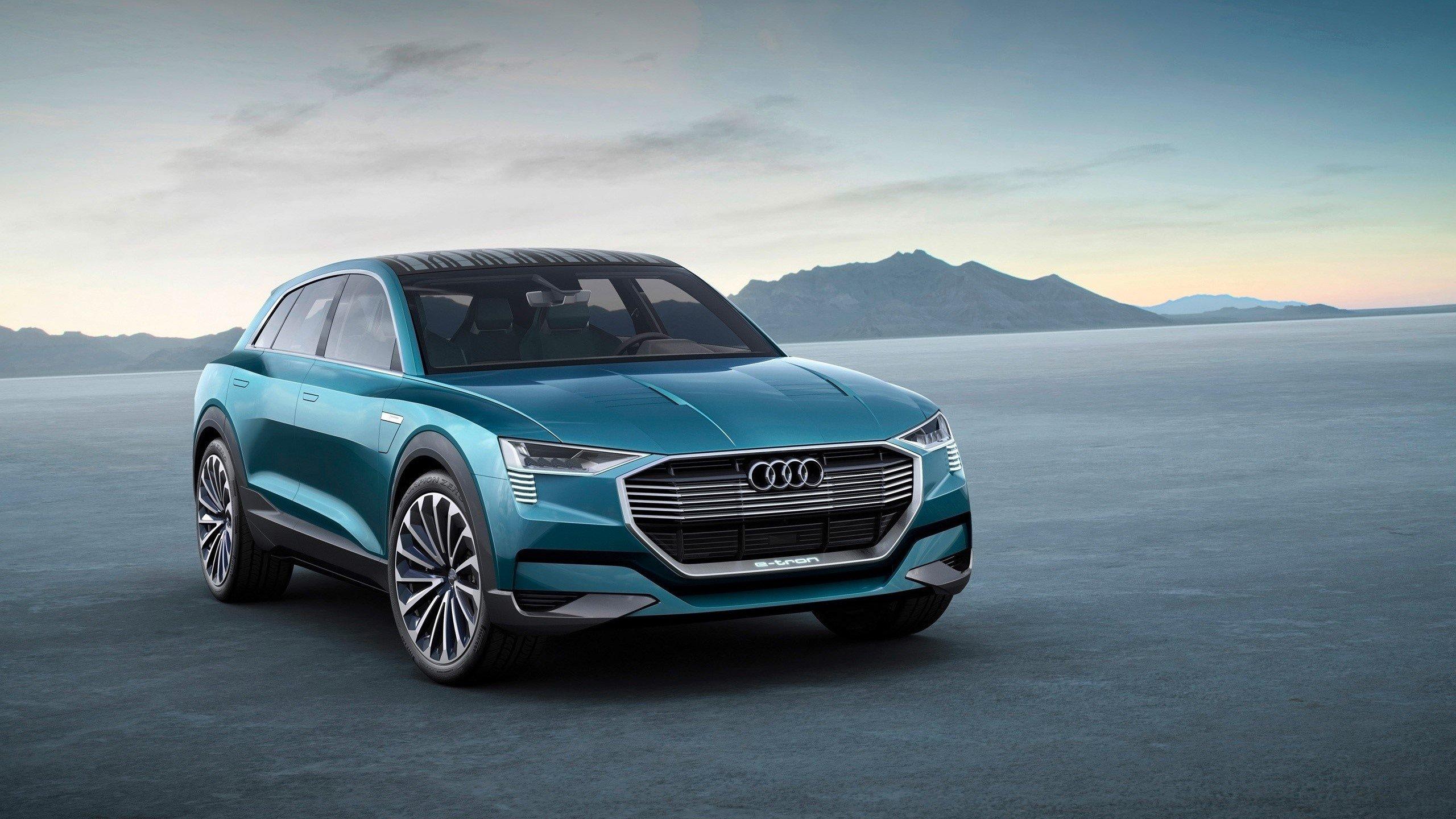 Wallpaper Audi E Tron quattro concept