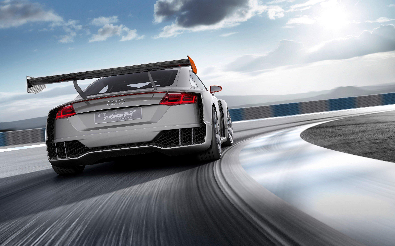 Fondos de pantalla Audi TT Clubsport Turbo Concept
