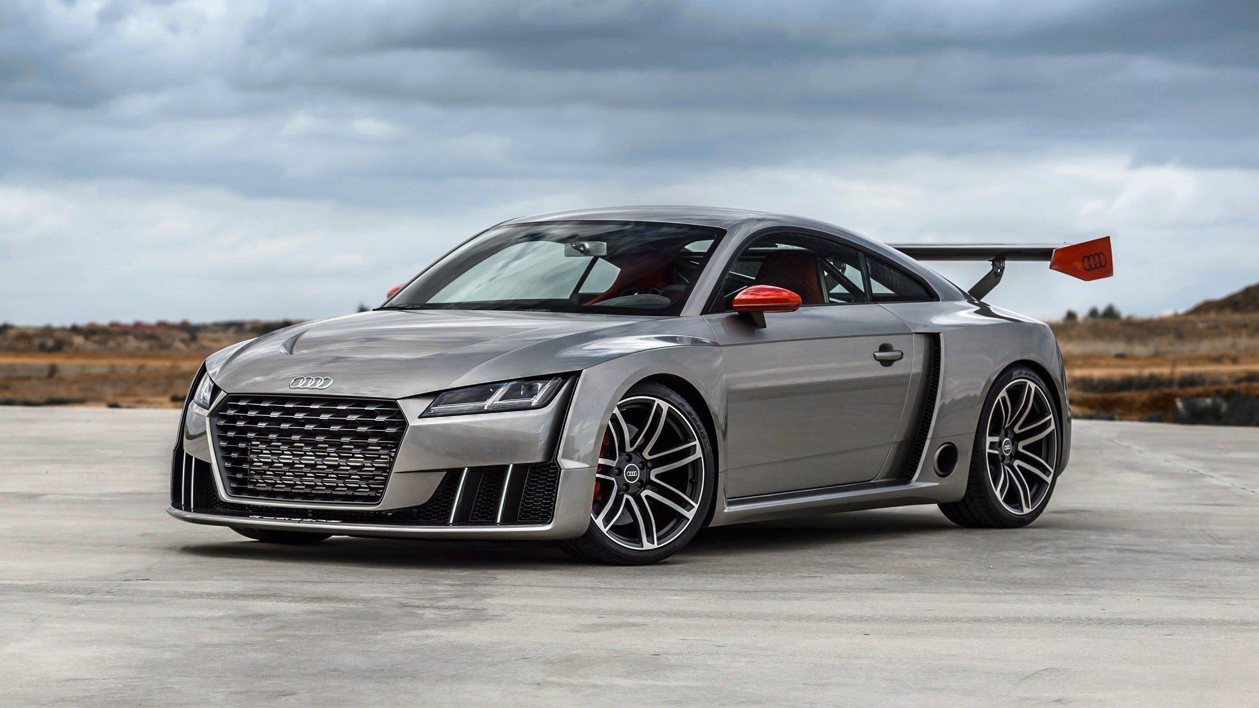 Fondos de pantalla Audi TT Coupe Concept