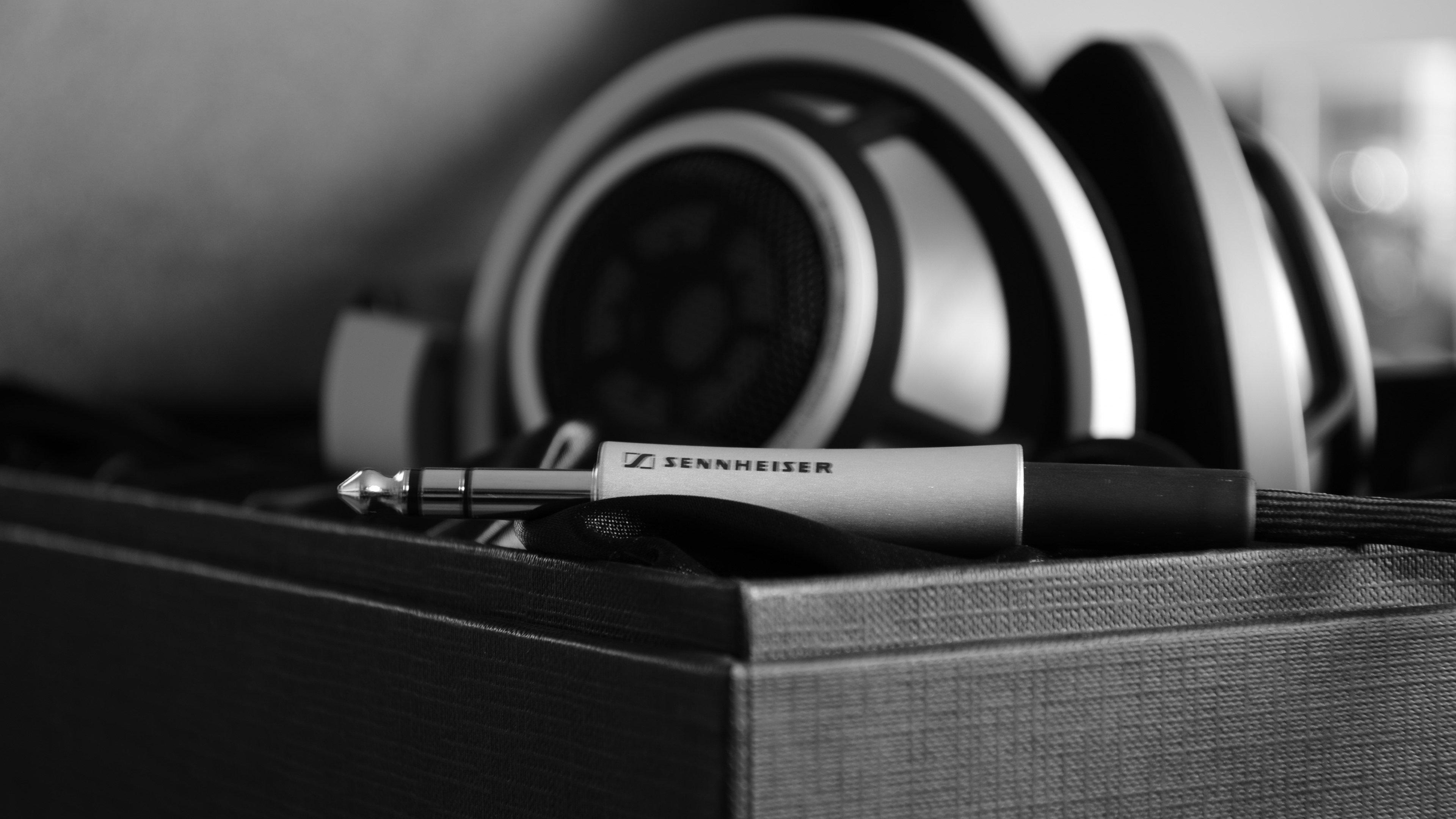 Wallpaper Sennheiser headphones