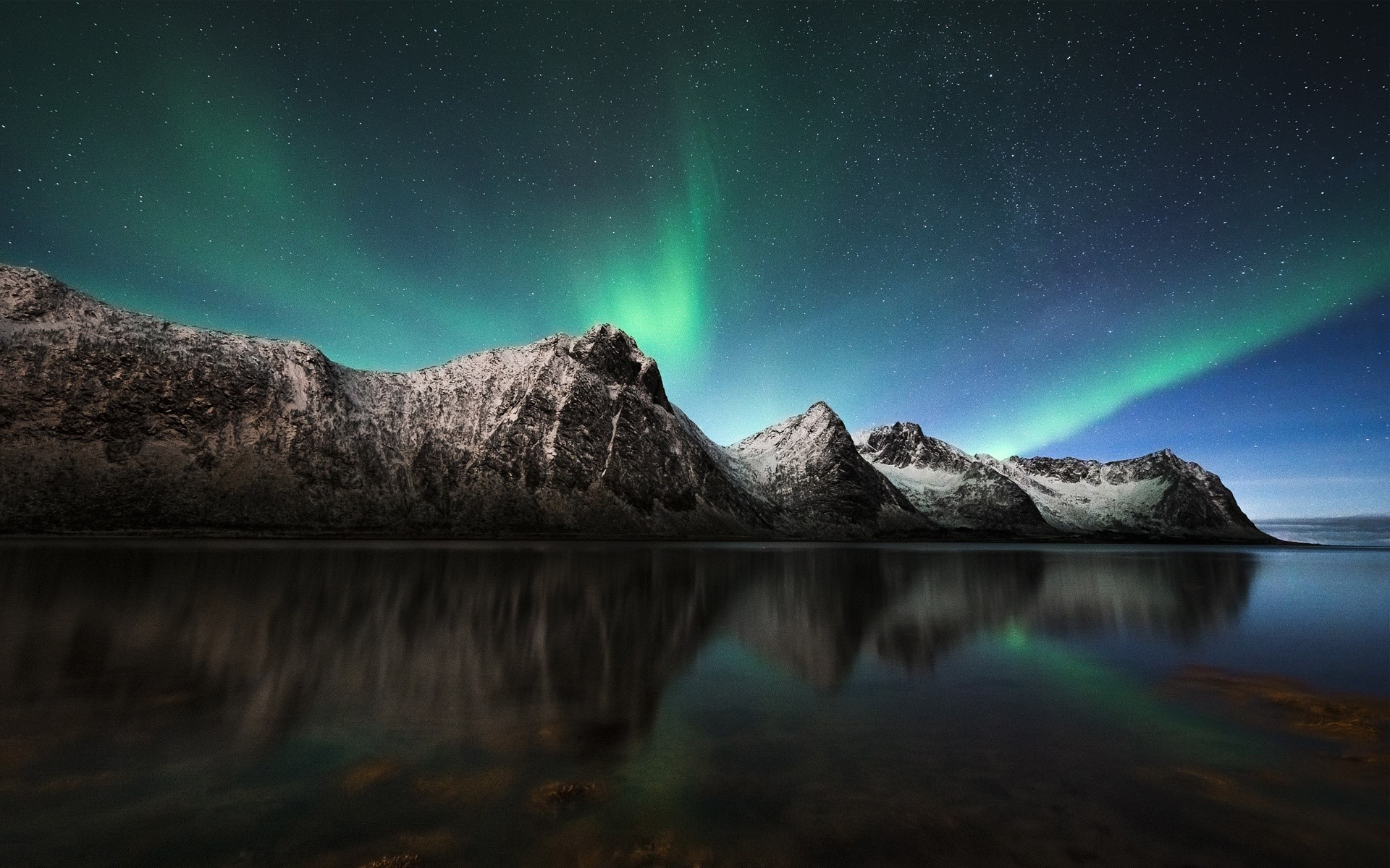 Wallpaper Aurora polar en Islandia Images