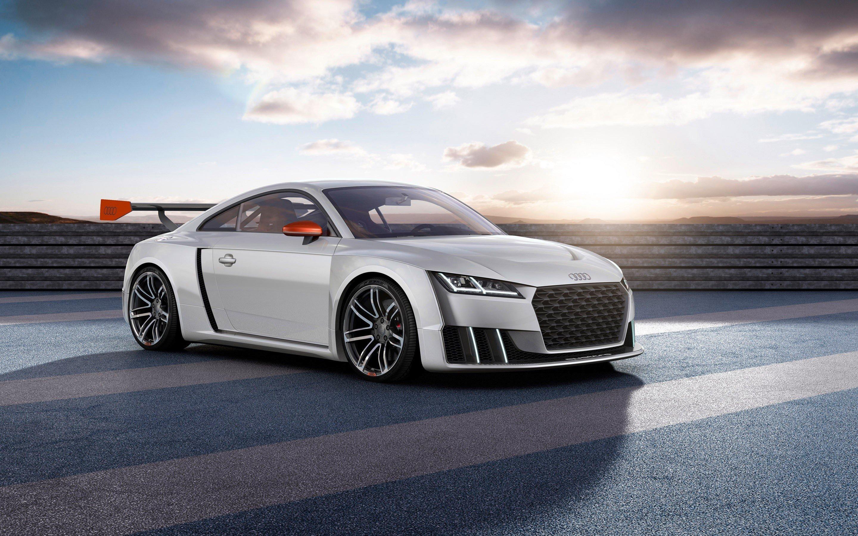 Wallpaper Auto Audi TT Clubsport Turbo Concept