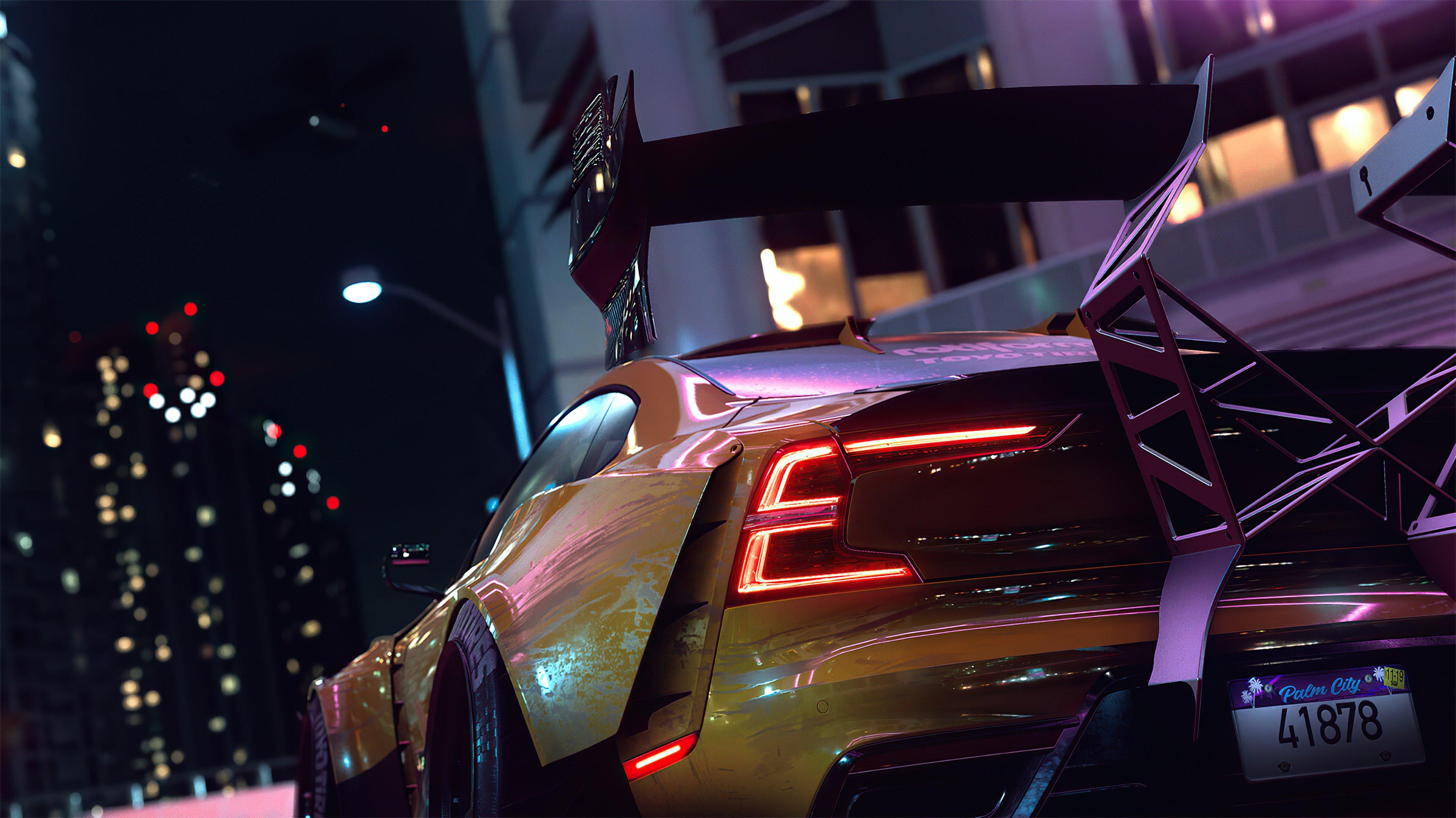 Wallpaper NFS heat car