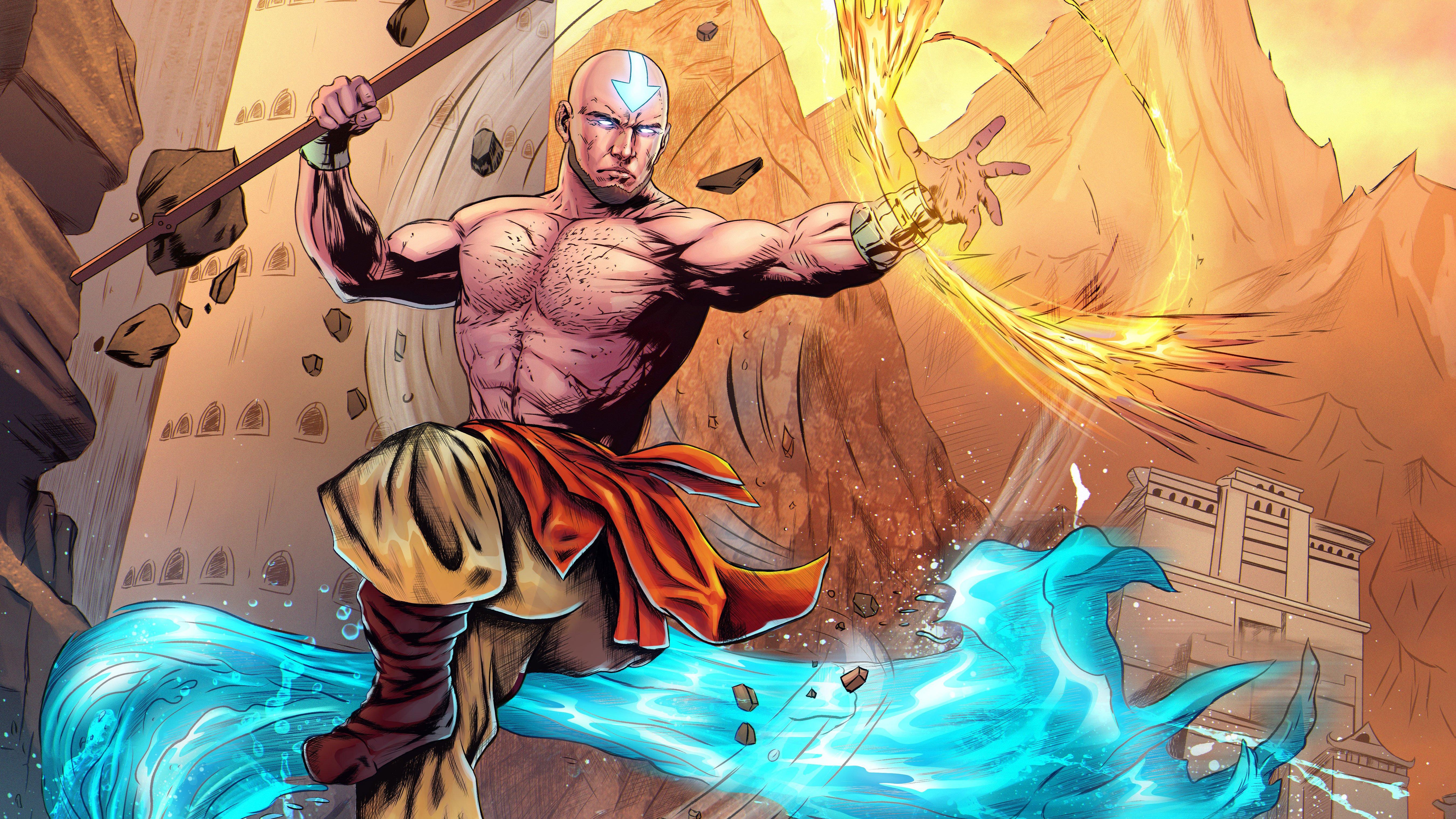 Anime Wallpaper Avatar: The Last Airbender Fanart
