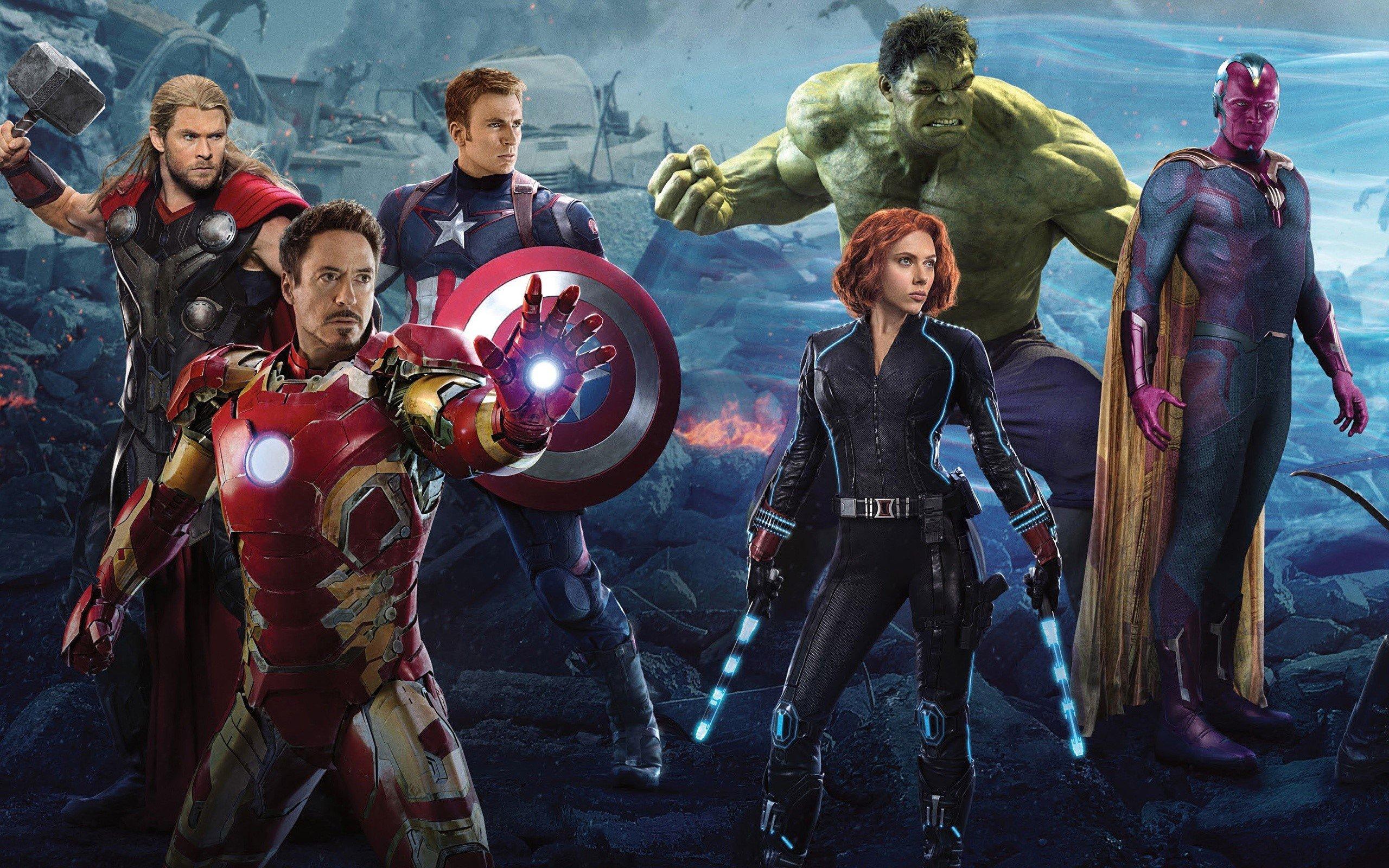 Fondos de pantalla Avengers 2