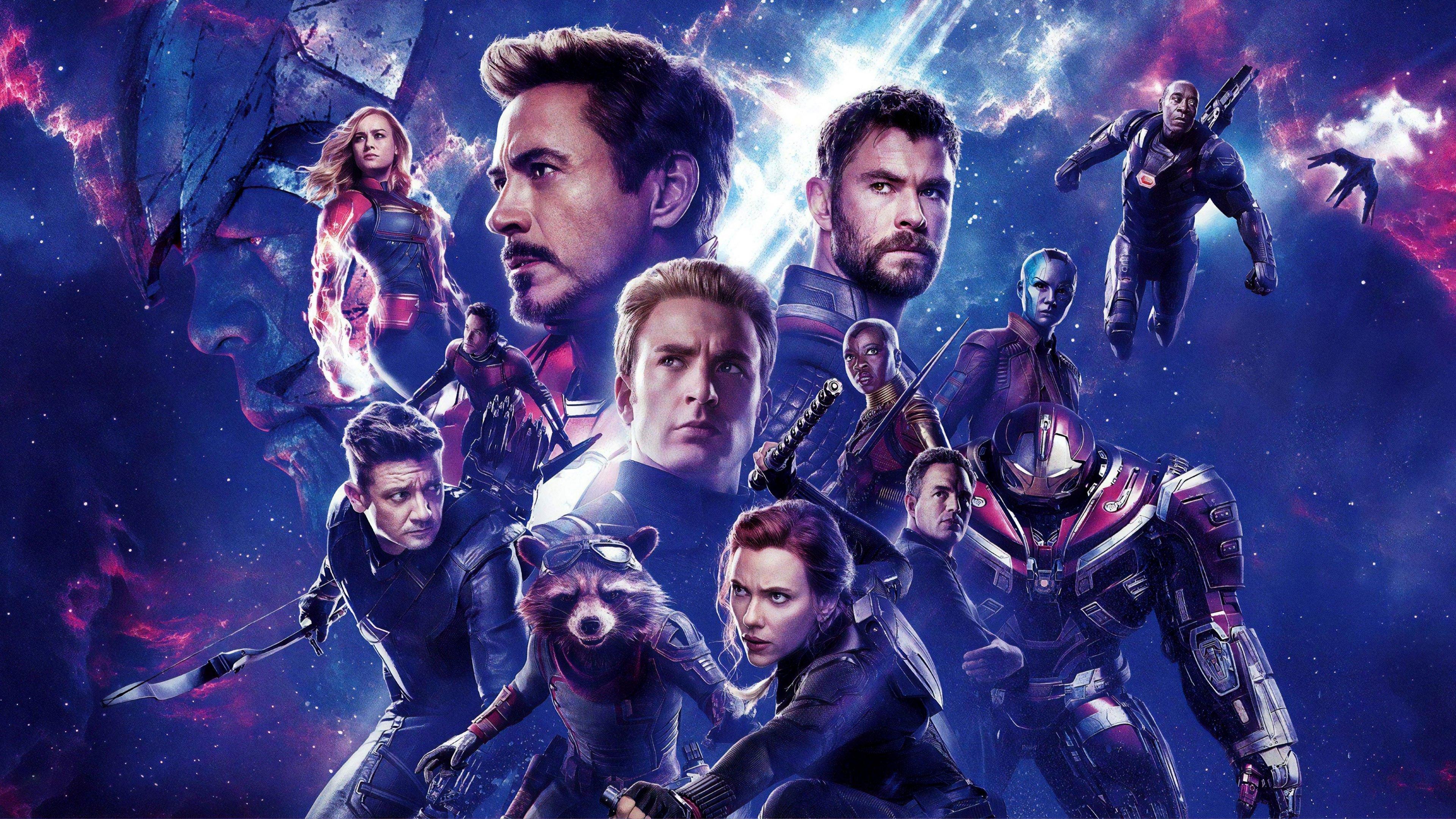 Fondos de pantalla Avengers Endgame