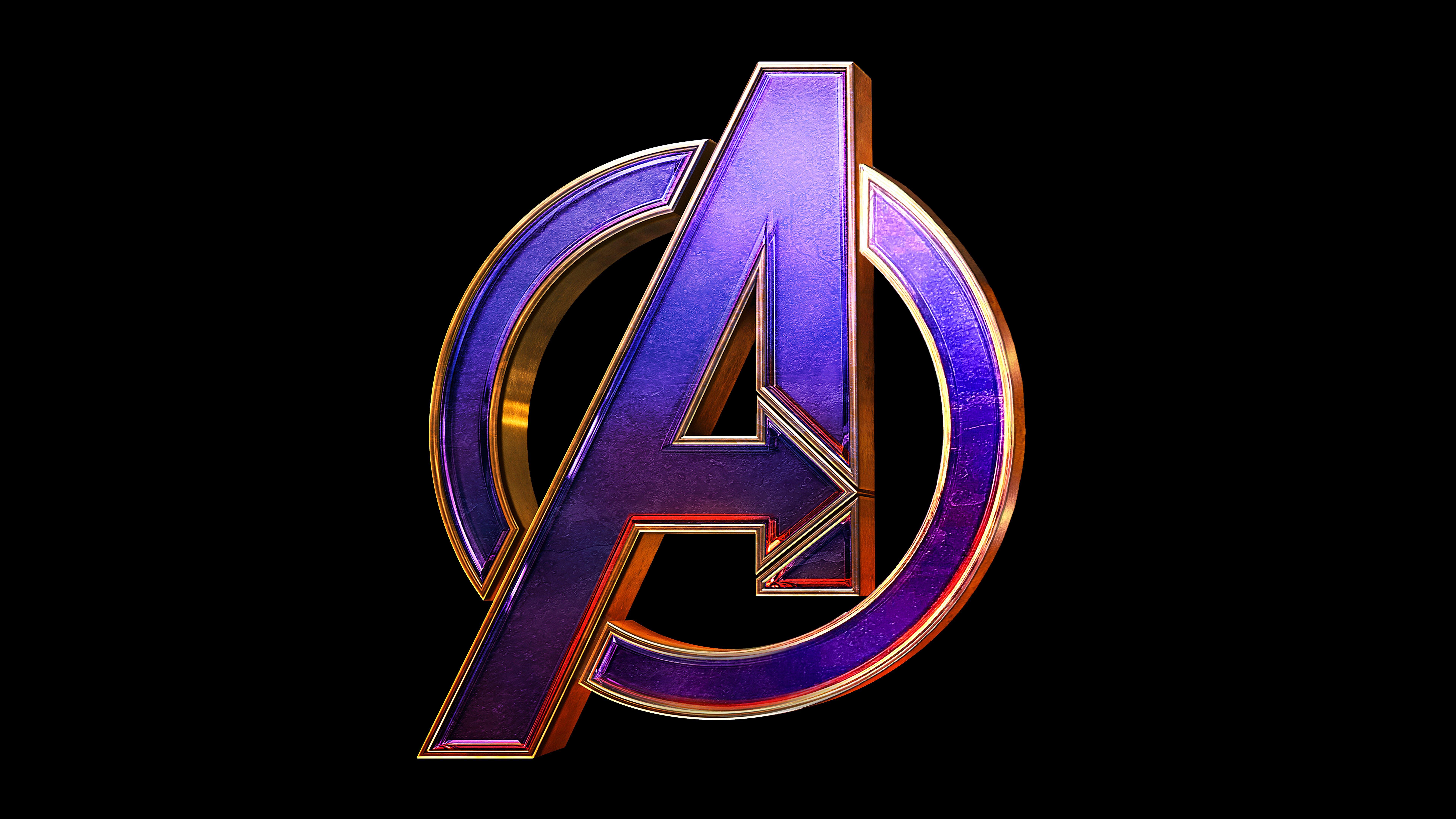 Fondos de pantalla Avengers Endgame Logo
