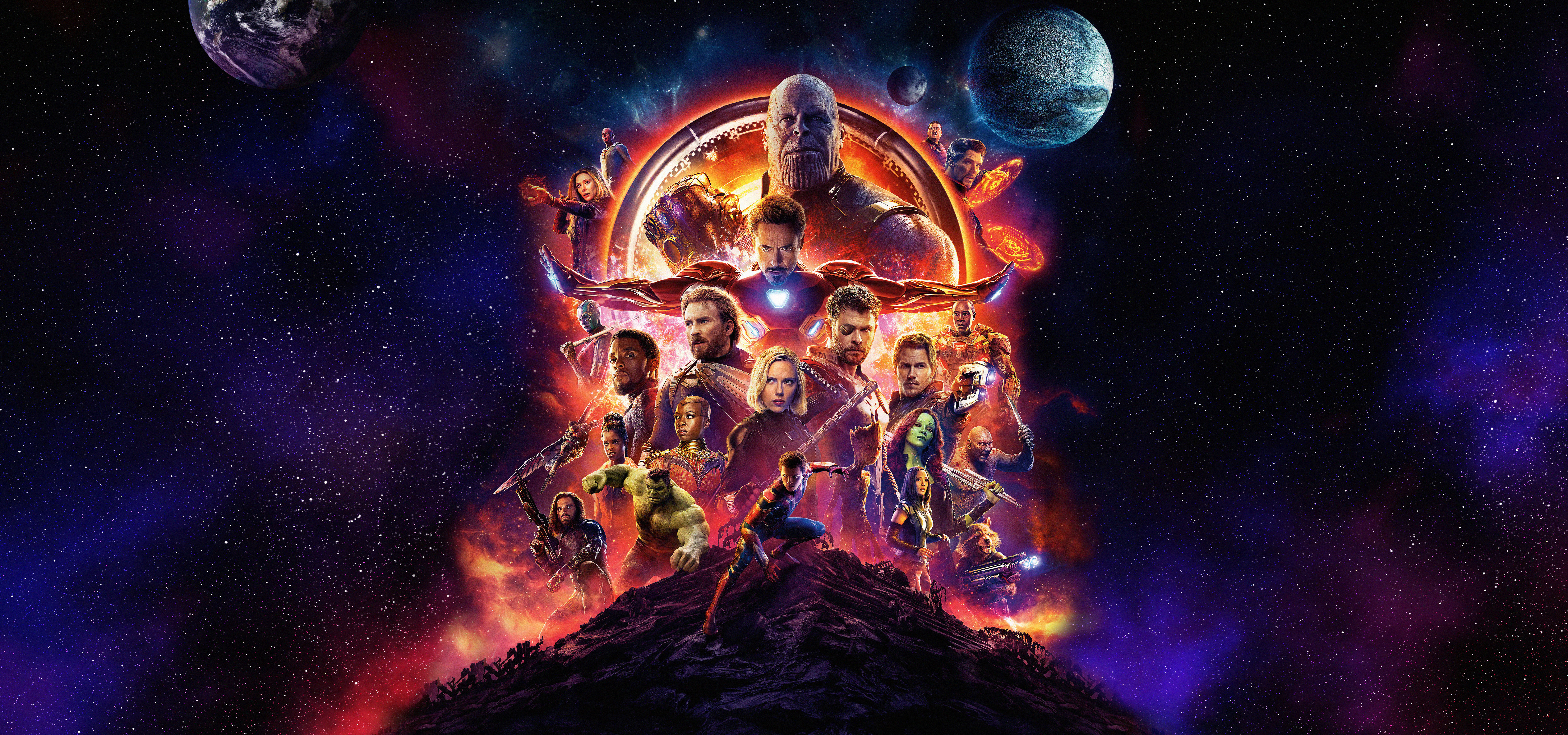 Fondos de pantalla Avengers Infinity War