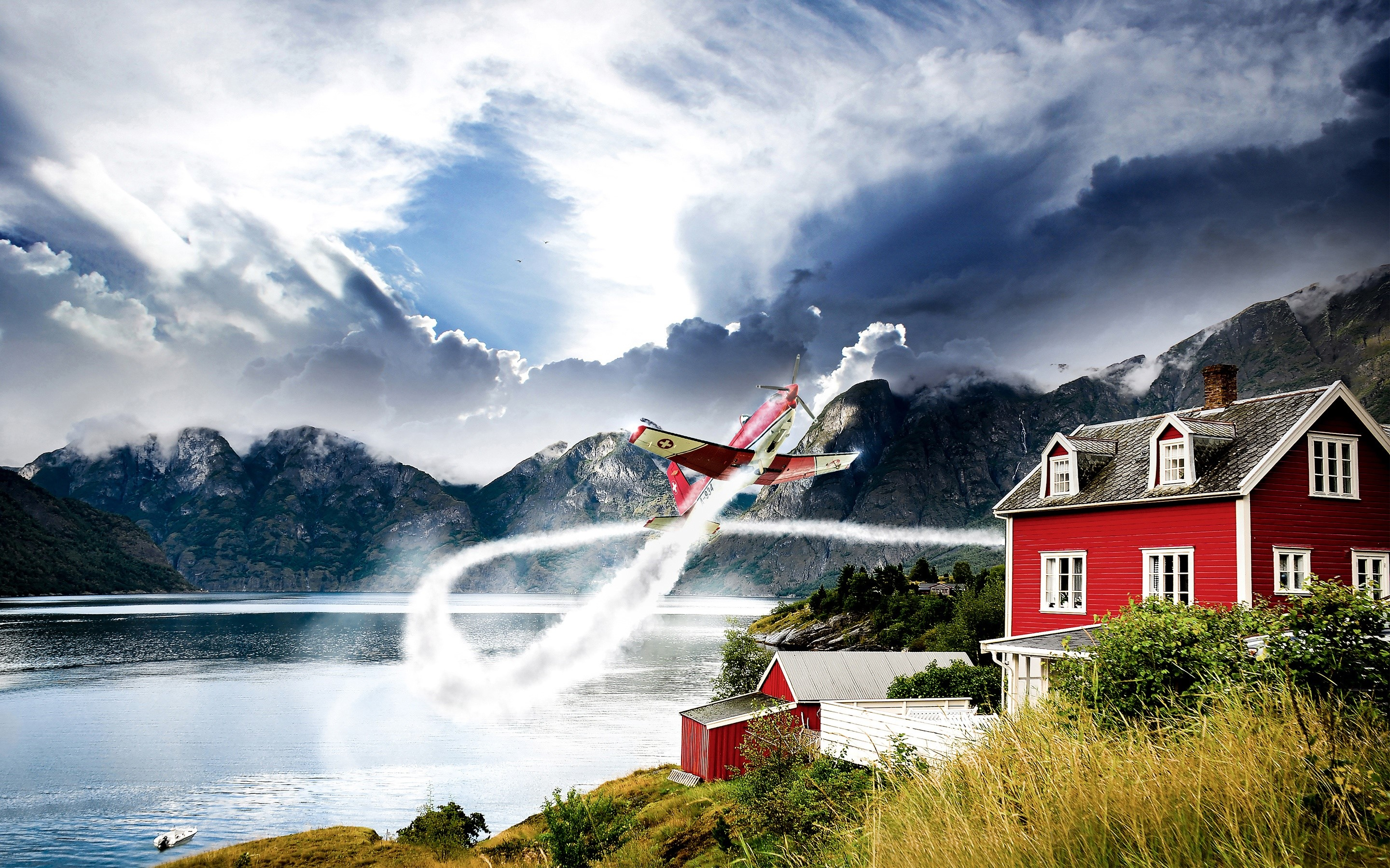 Wallpaper Norwegian Aviation