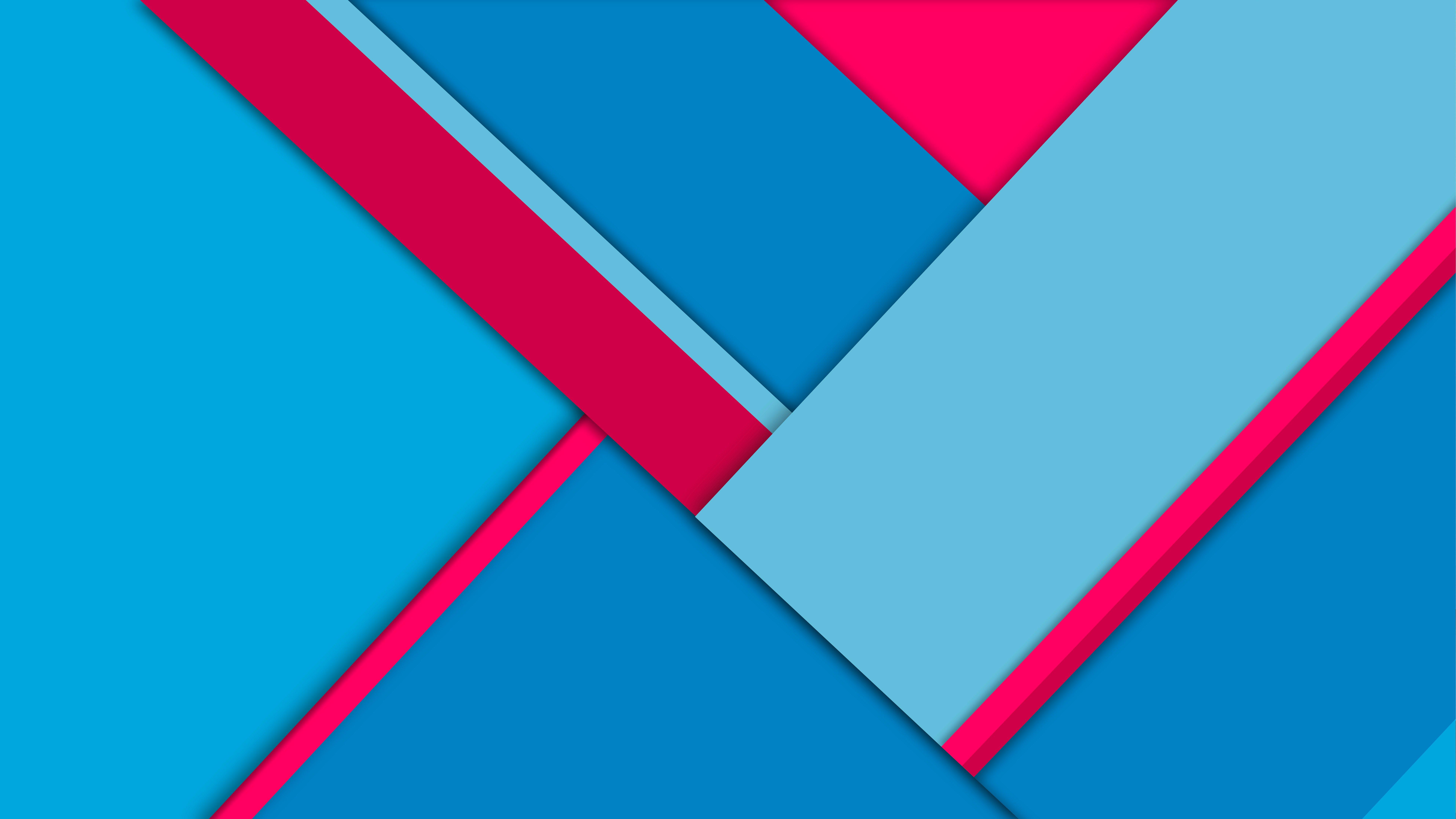 Fondos de pantalla Azul y rojo en bloques