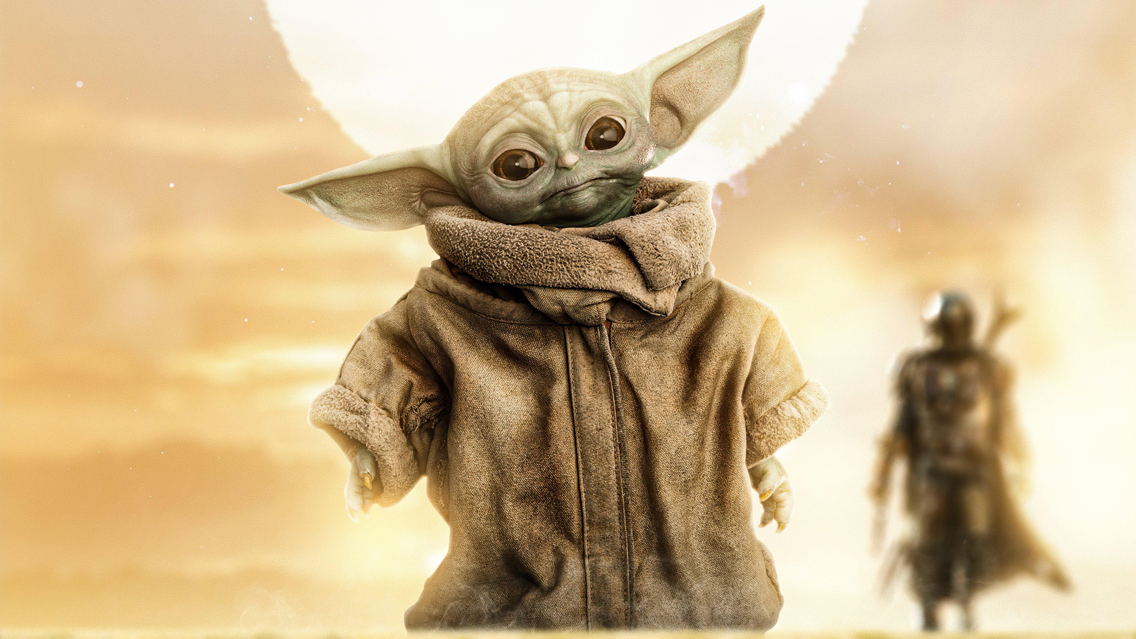 Fondos de pantalla Baby Yoda 2020