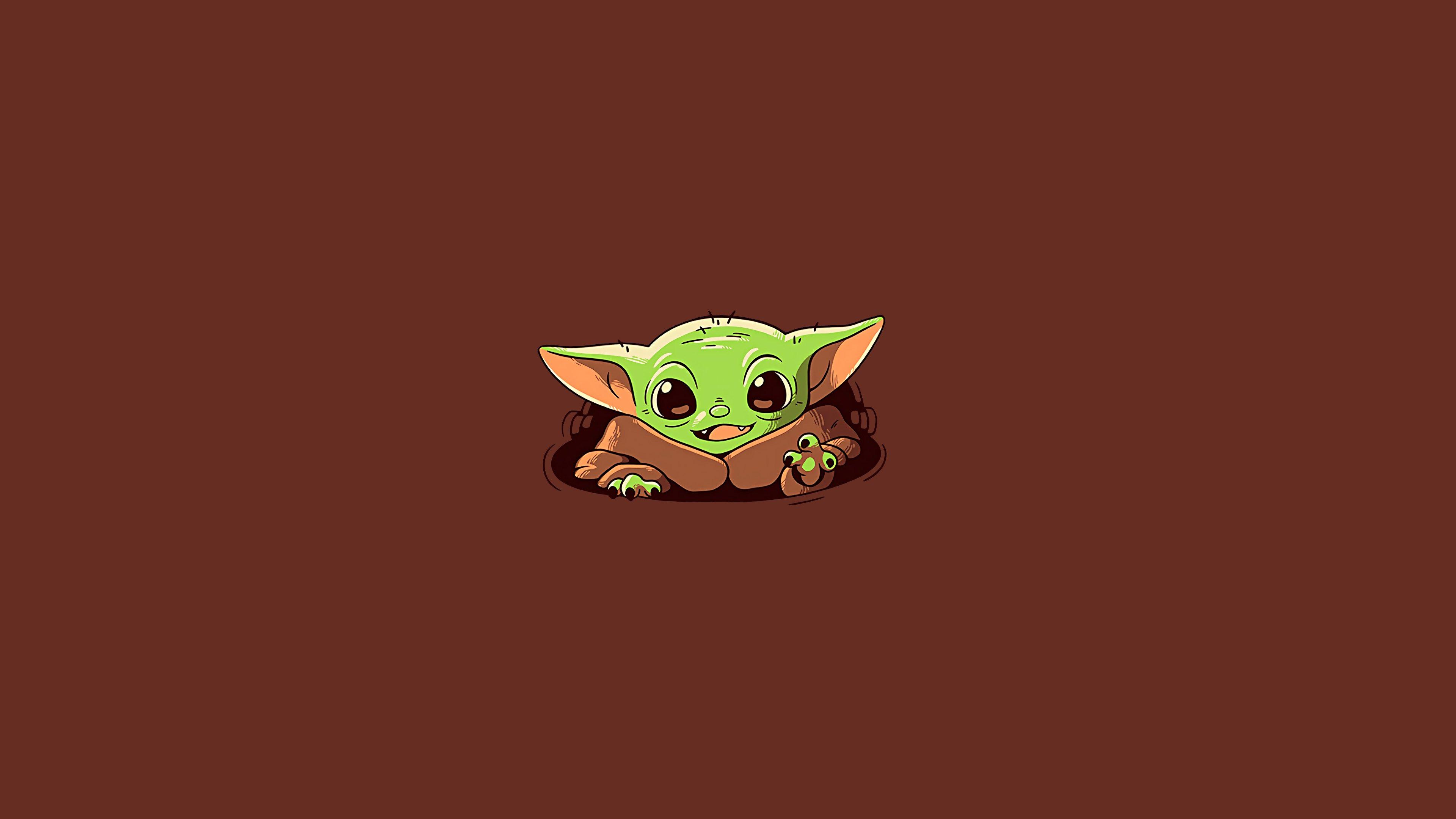Fondos de pantalla Baby Yoda El Mandaloriano