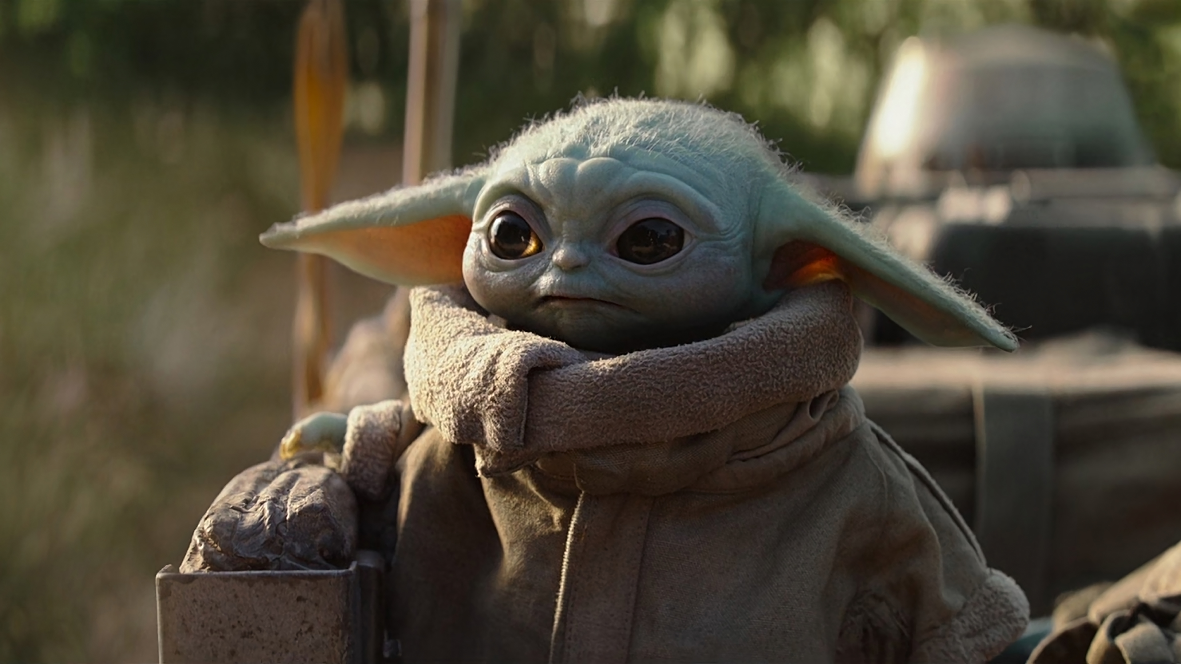 Fondos de pantalla Baby Yoda en El Mandaloriano