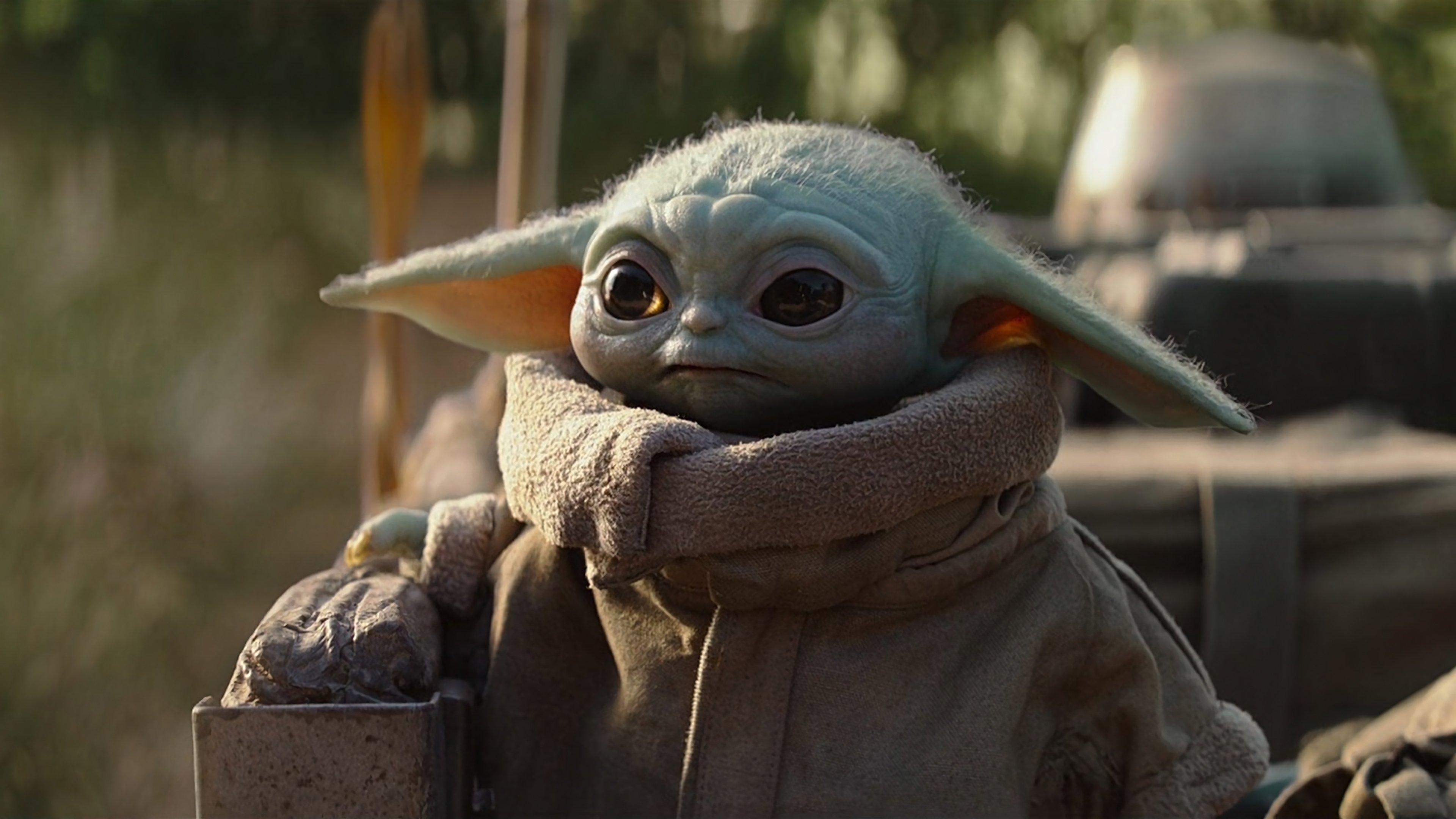 Baby Yoda from The Mandalorian Wallpaper 4k Ultra HD ID:4404