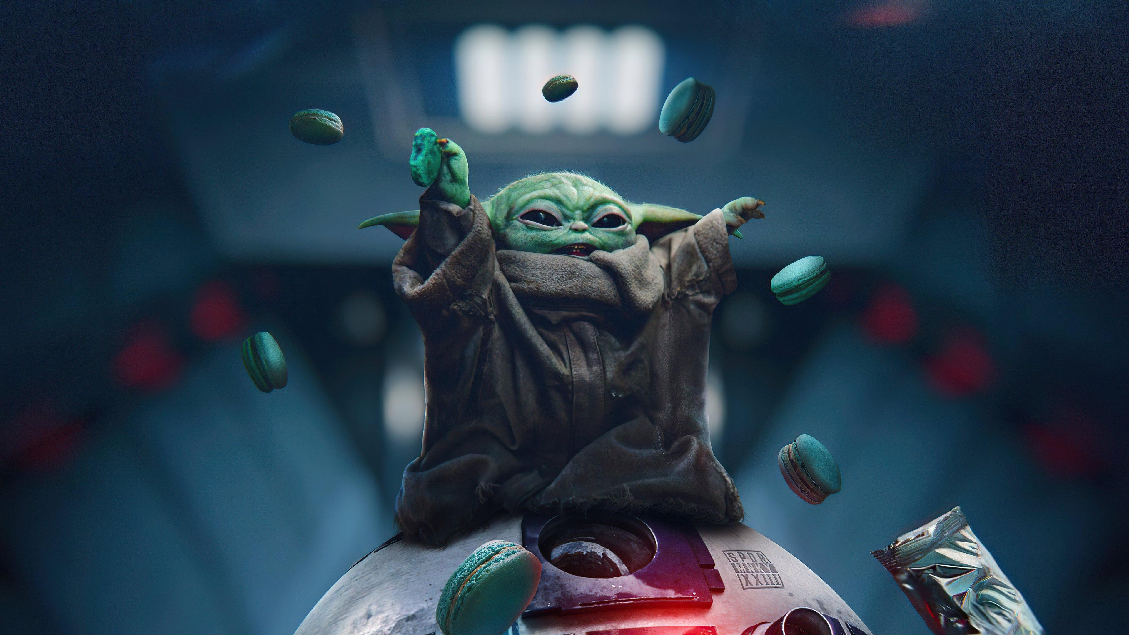 Fondos de pantalla Baby Yoda The Mandalorian