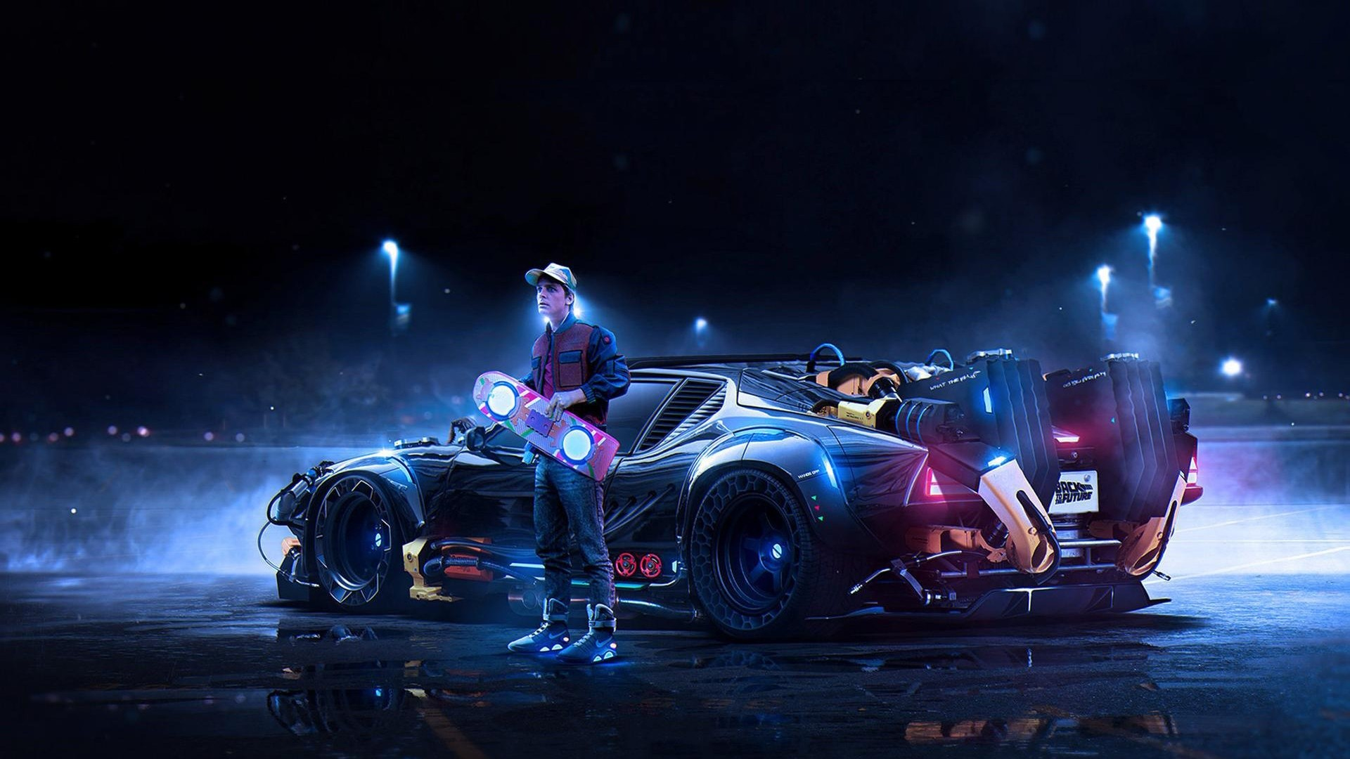 Fondos de pantalla Back To The Future Concept