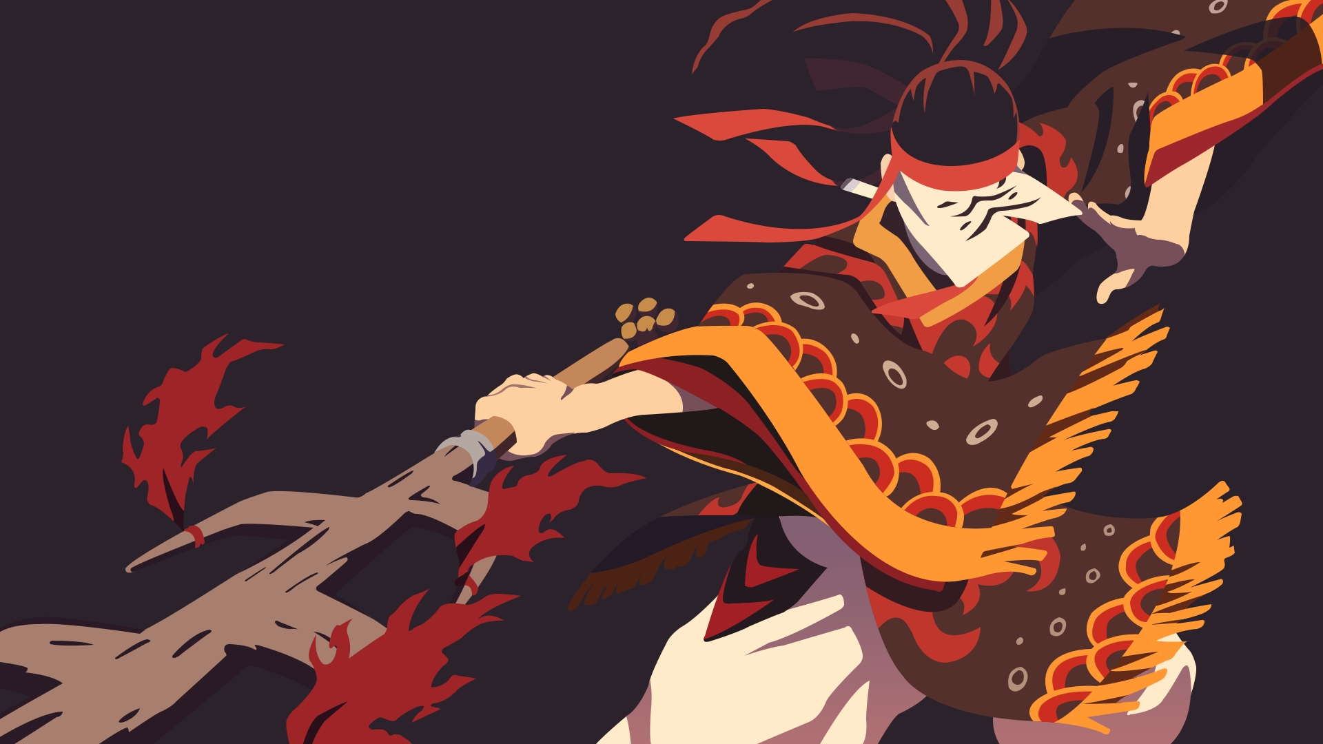 Fondos de pantalla Anime Baile Kagura de Guardianes de la noche