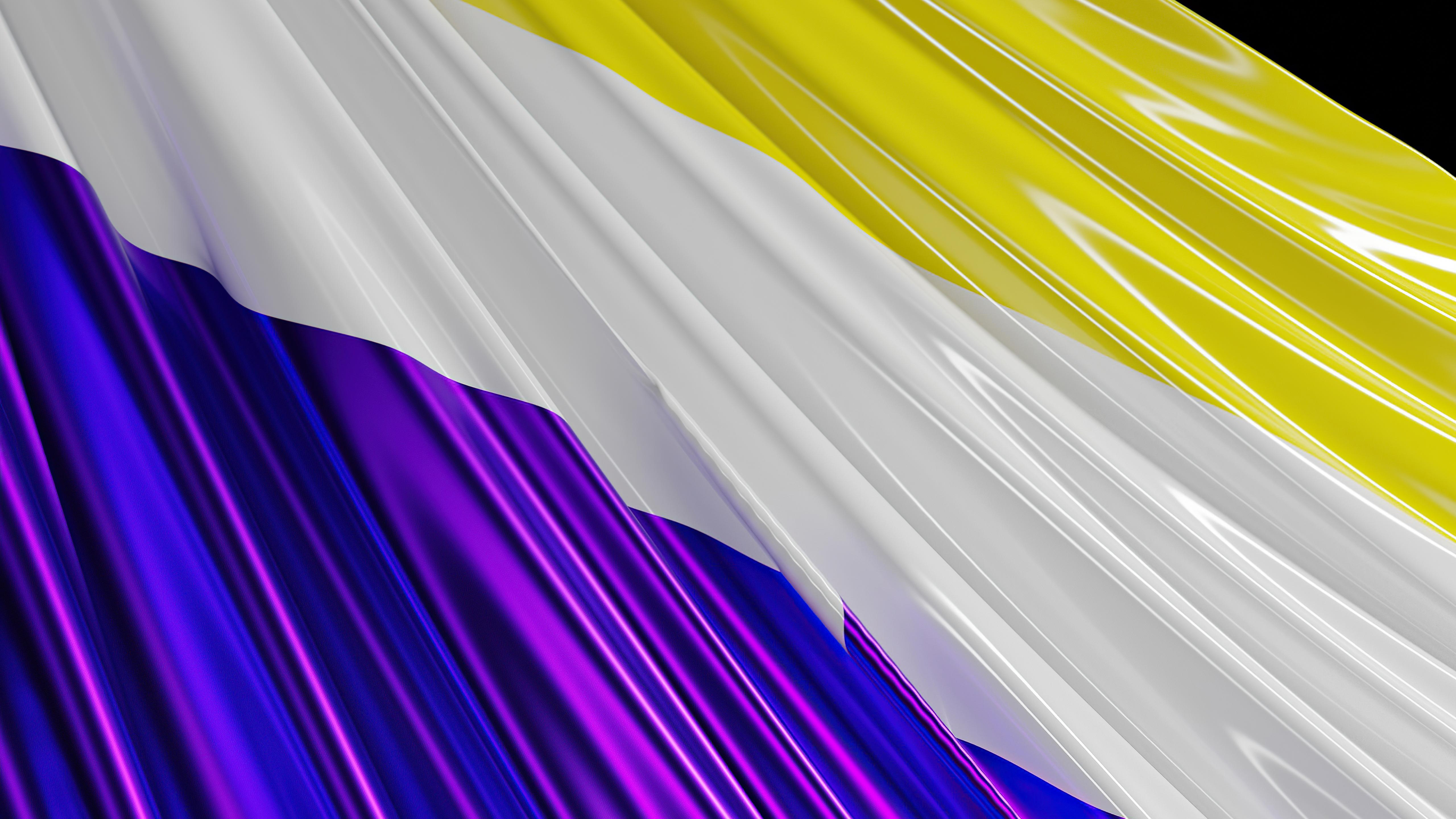 Fondos de pantalla Bandera No binaria