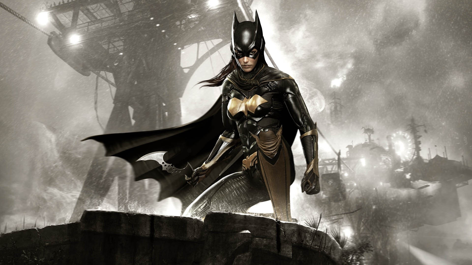 Wallpaper Batgirl in Batman Arkham Knight