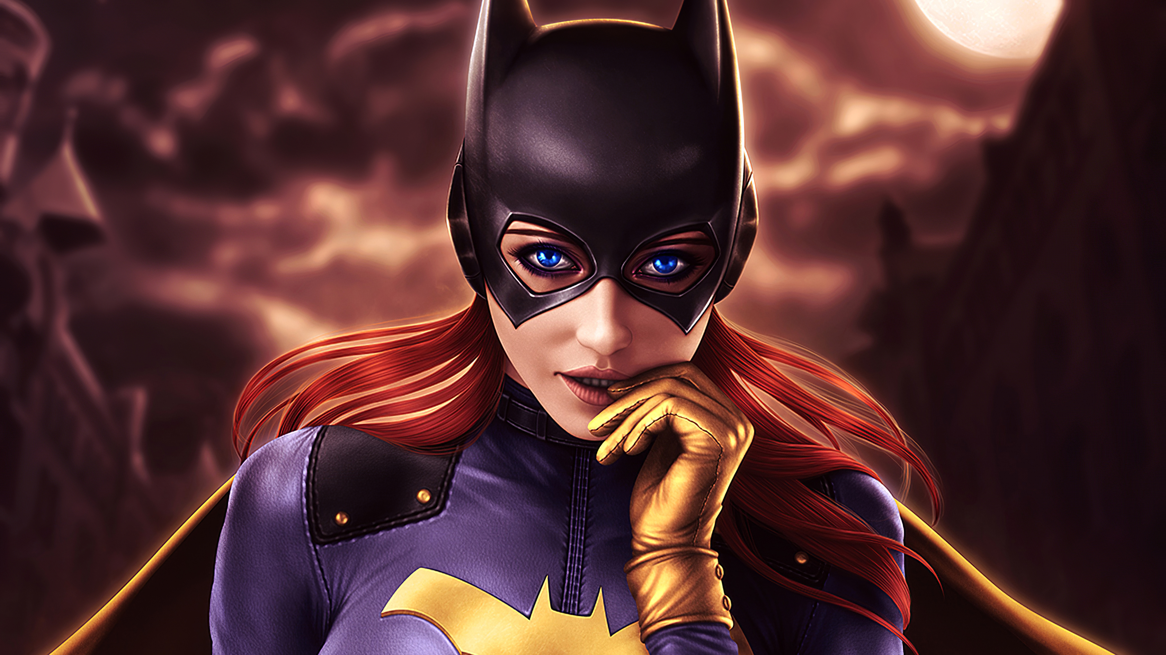 Fondos de pantalla Batgirl peliroja