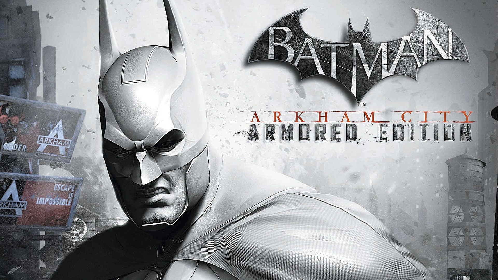 Fondos de pantalla Batman Arkham City Armored Edition