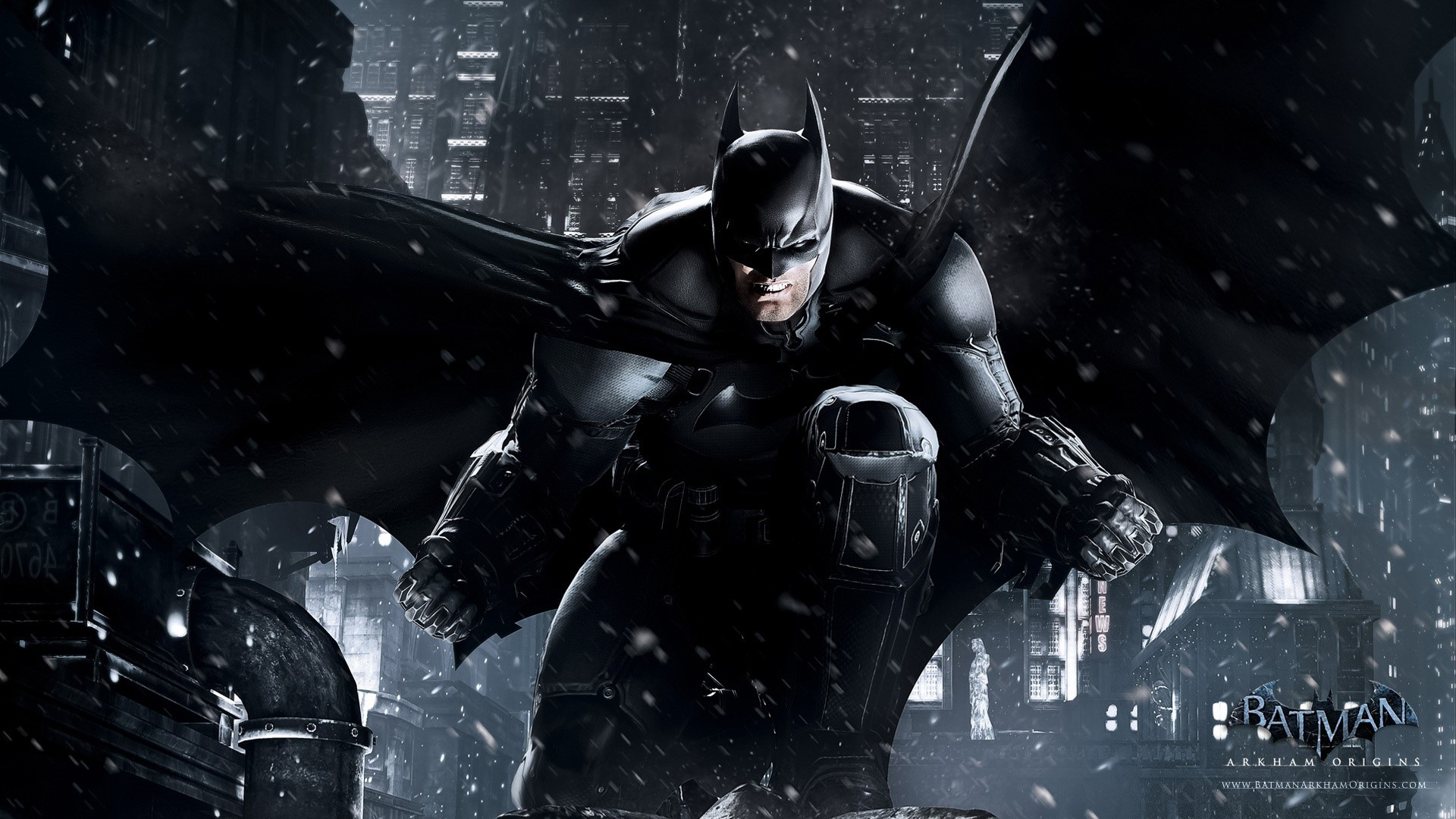 Wallpaper Batman Arkham Origins