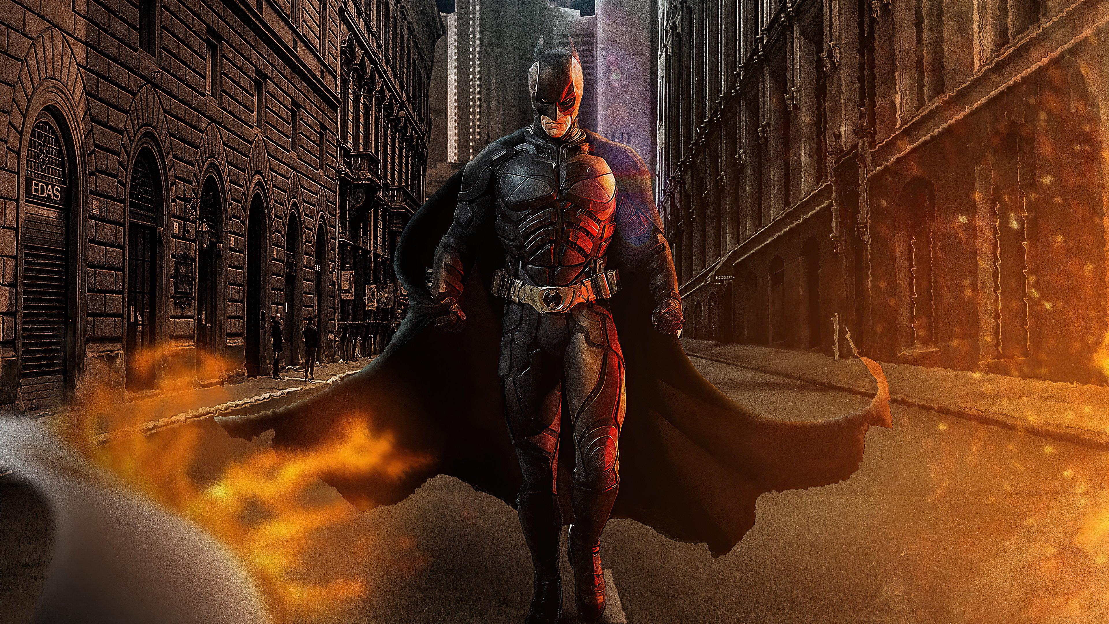 Fondos de pantalla Batman caminando