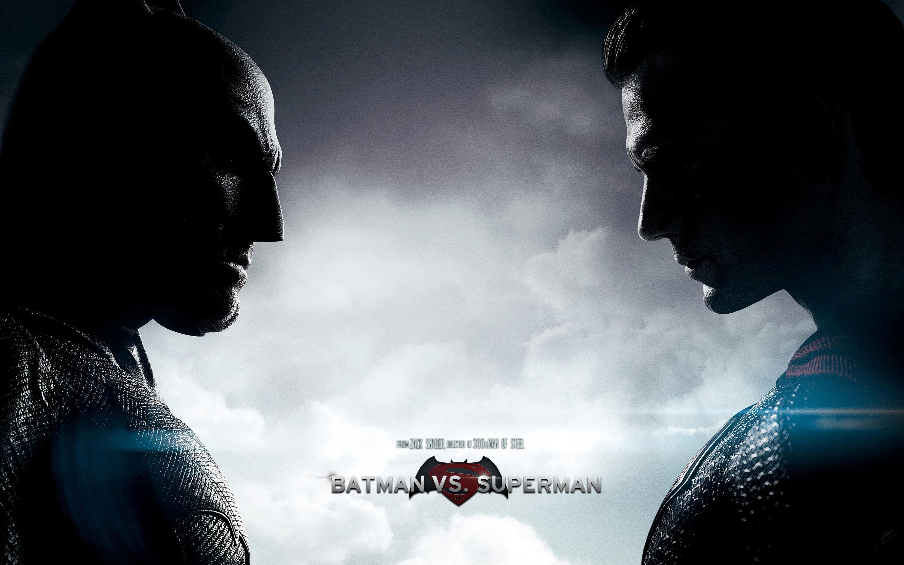 Wallpaper Batman against Superman
