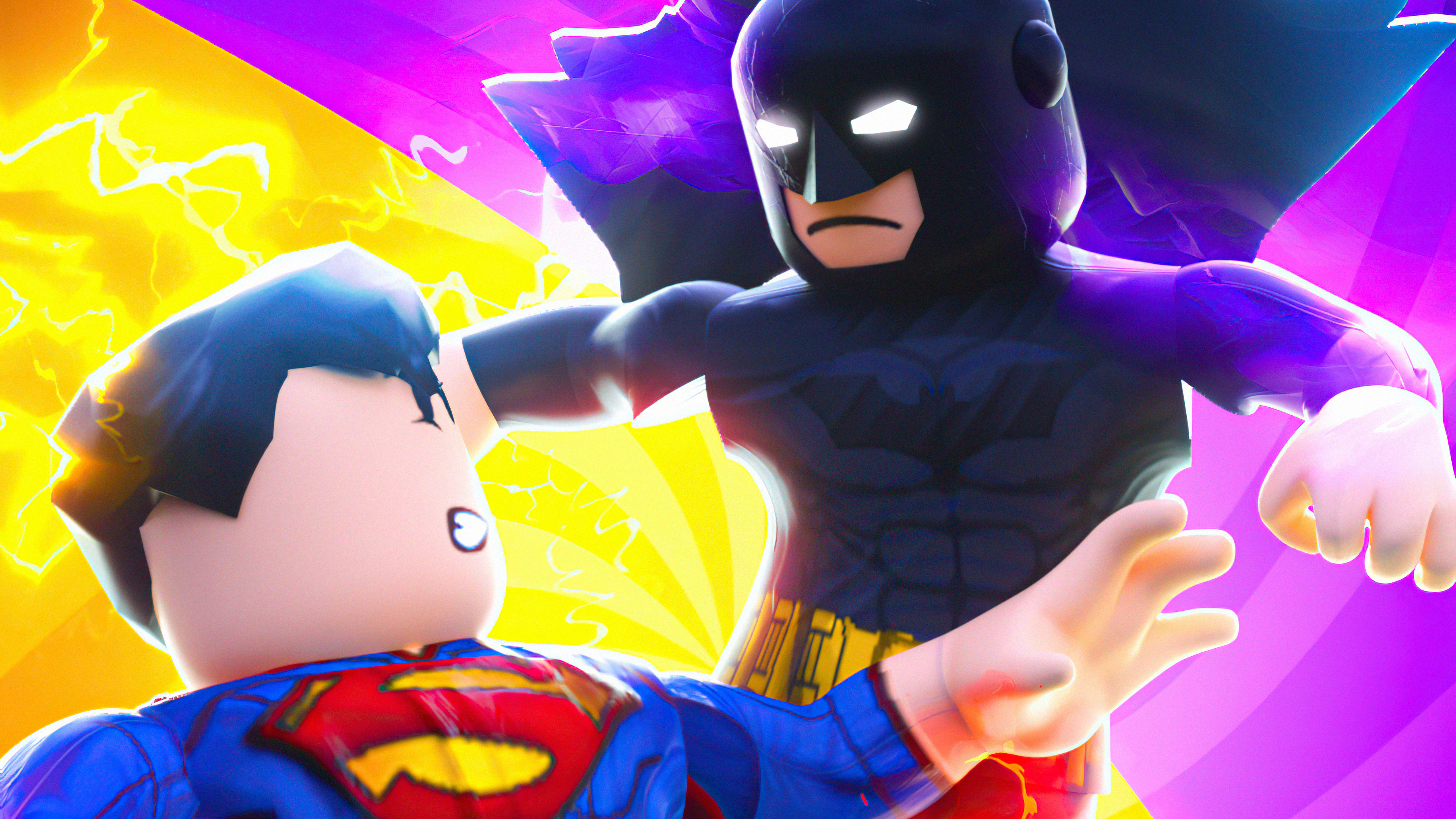 Wallpaper Batman vs Superman Lego