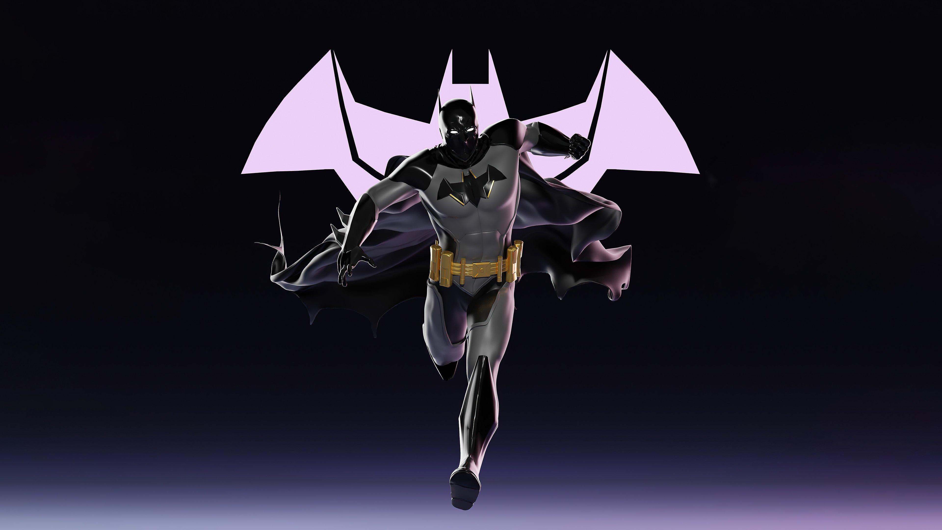 Wallpaper Batman running Digital Art