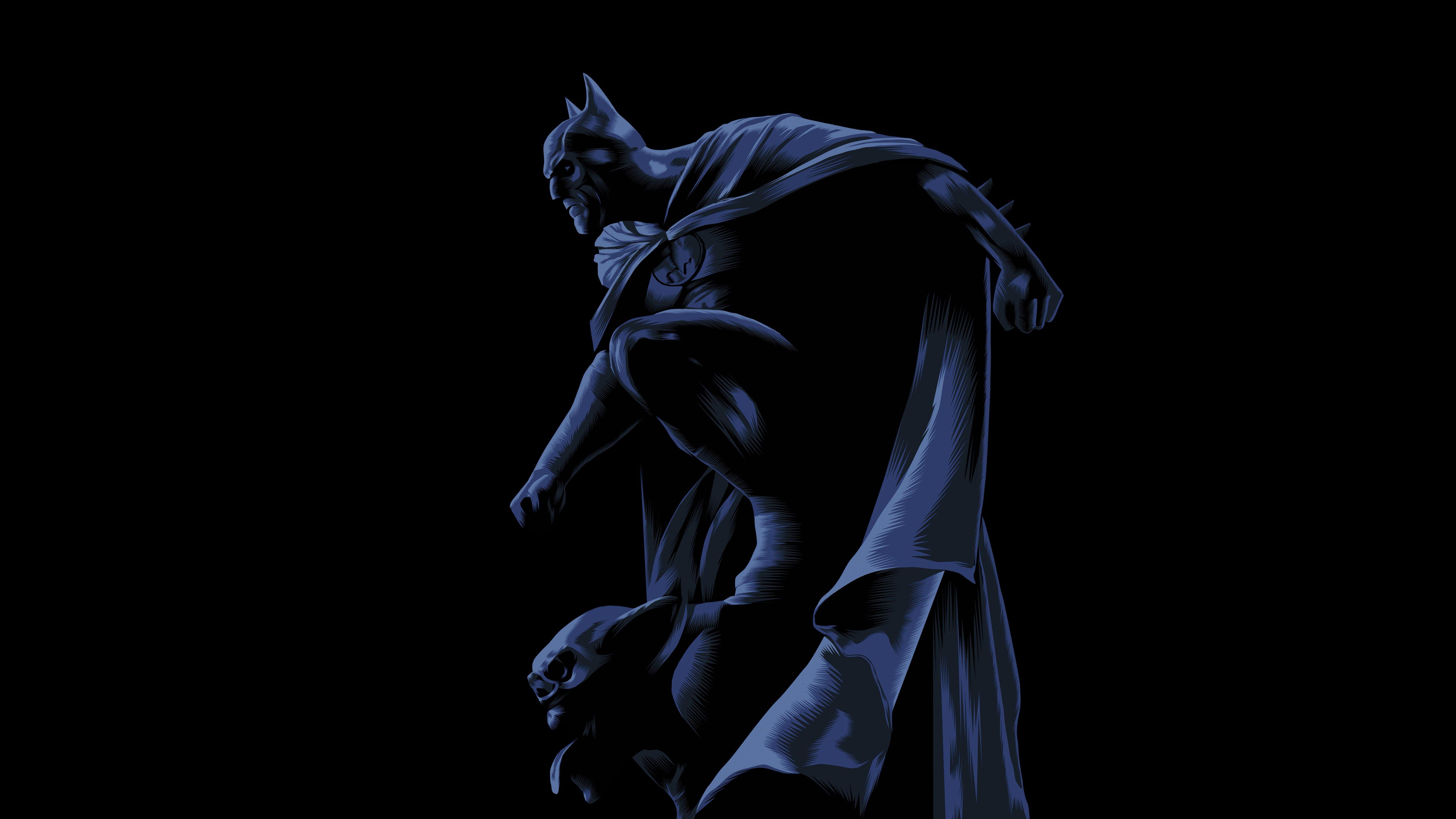 Wallpaper Batman Dark Knight Illustration